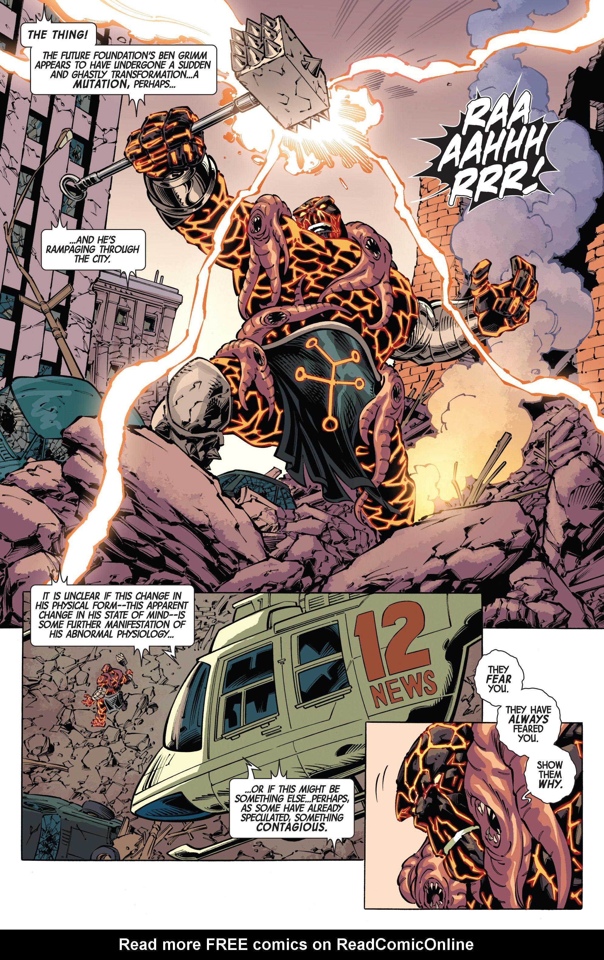 Read online Fear Itself: FF comic -  Issue # Full - 4