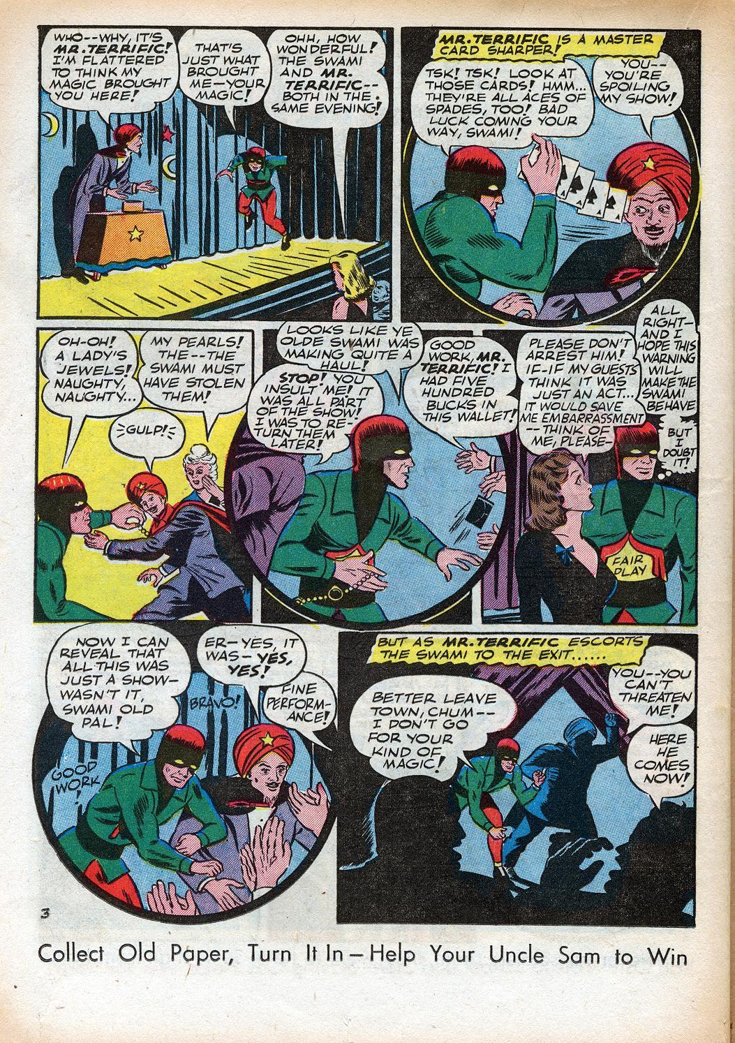 Read online Sensation (Mystery) Comics comic -  Issue #33 - 36