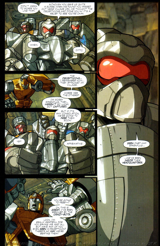 Read online Transformers Armada comic -  Issue #2 - 8