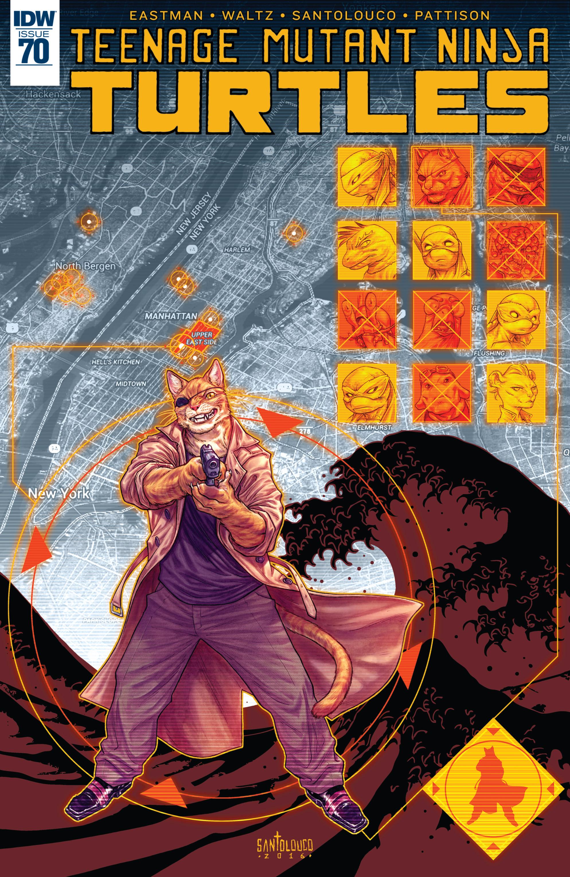 Read online Teenage Mutant Ninja Turtles (2011) comic -  Issue #70 - 1