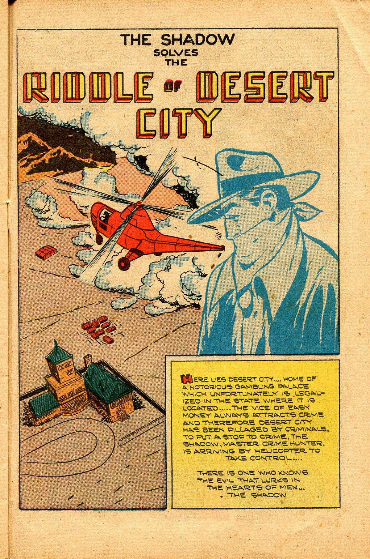 Read online Shadow Comics comic -  Issue #94 - 37