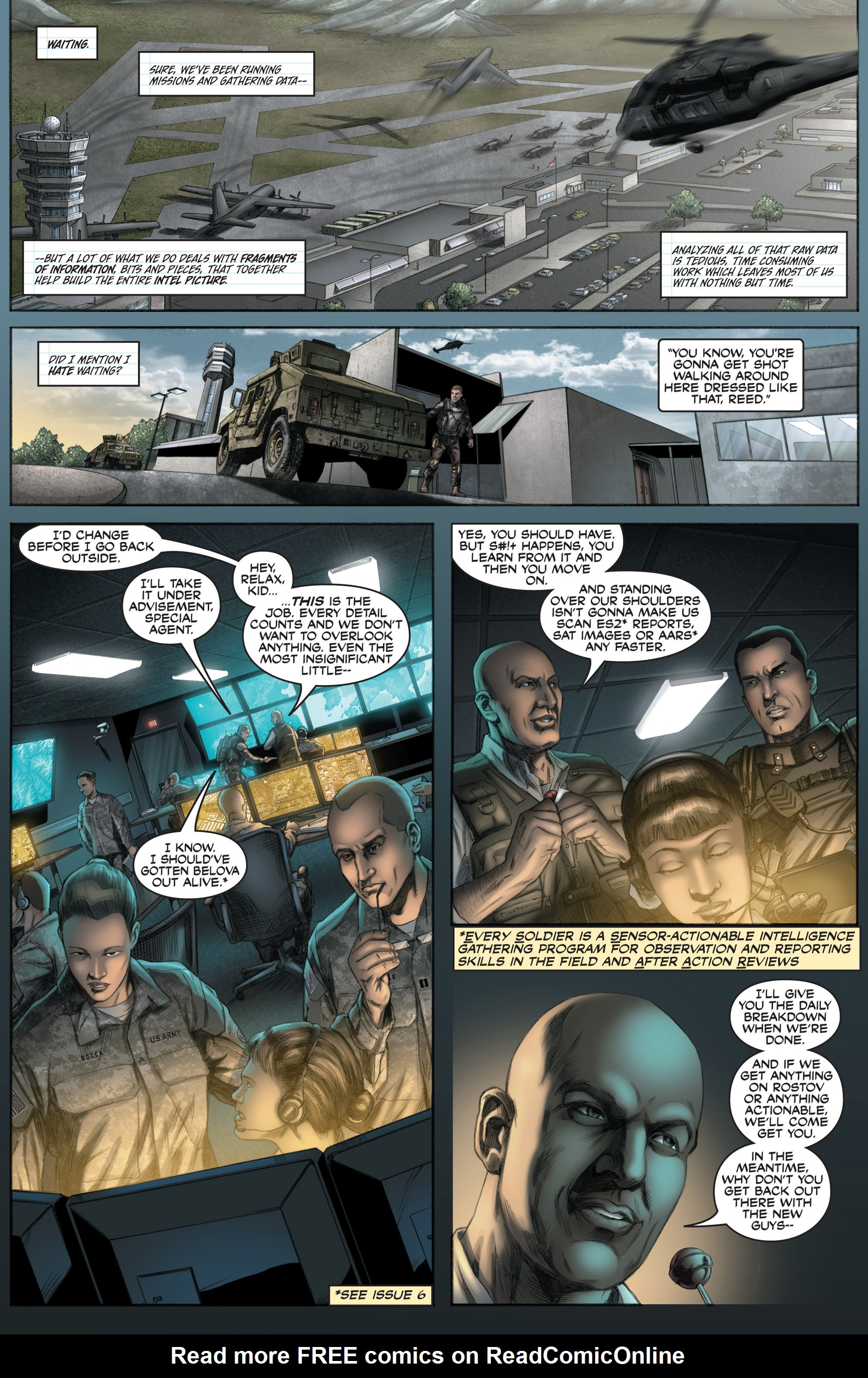 Read online America's Army comic -  Issue #8 - 6
