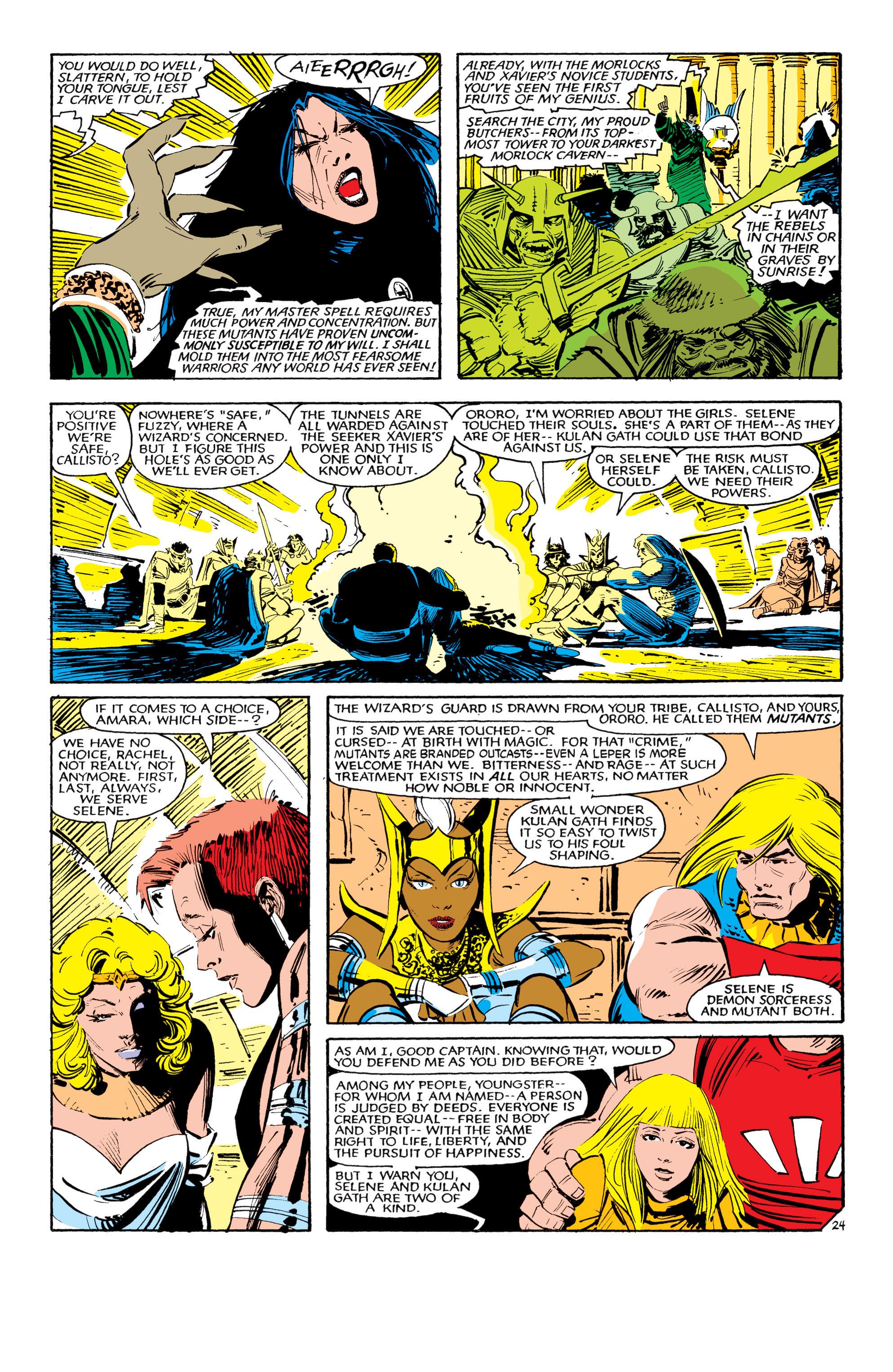Read online Uncanny X-Men (1963) comic -  Issue #190 - 24