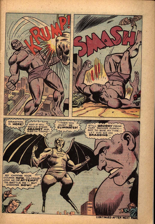 Read online Astonishing Tales (1970) comic -  Issue #22 - 17