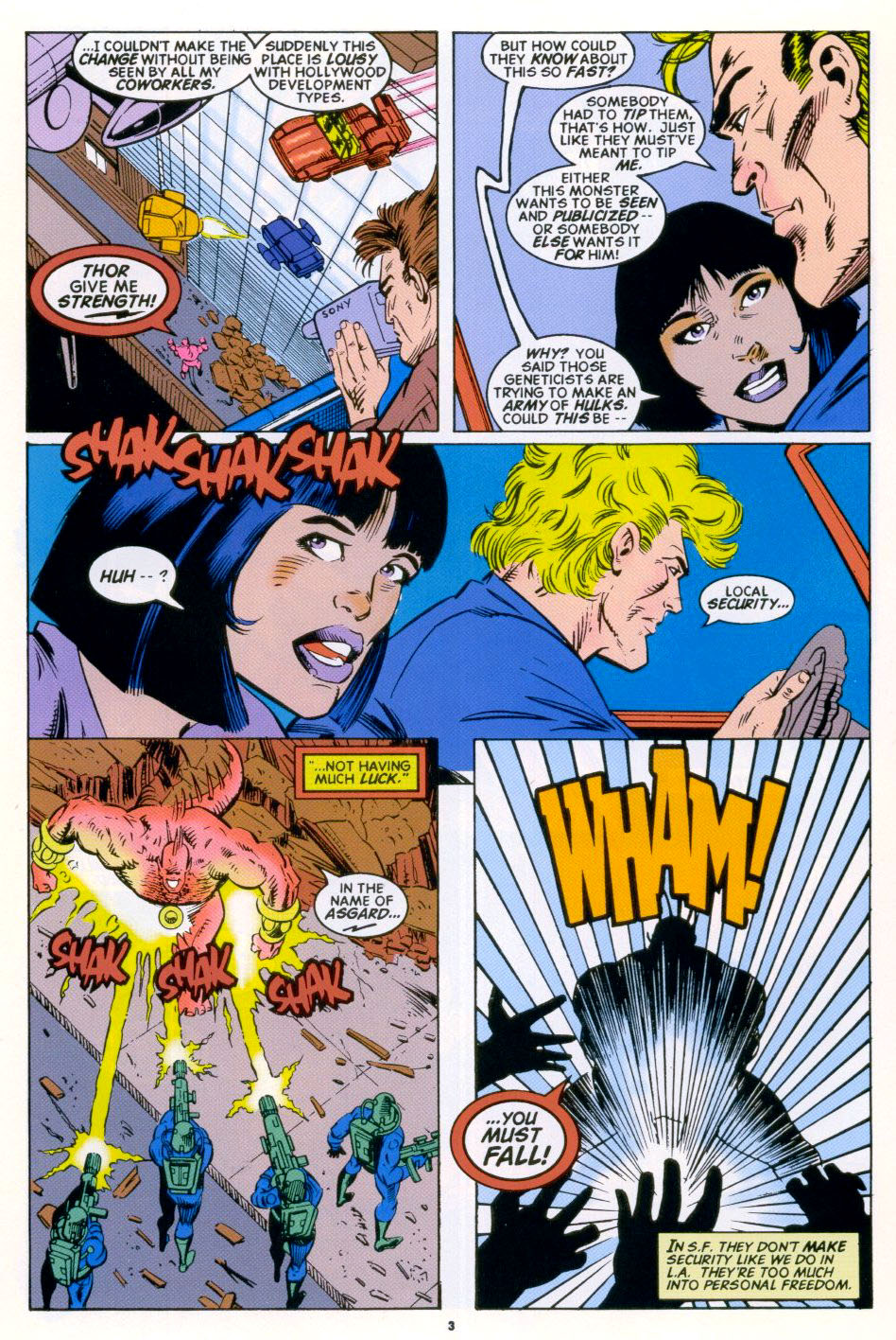 Read online 2099 Unlimited comic -  Issue #4 - 4
