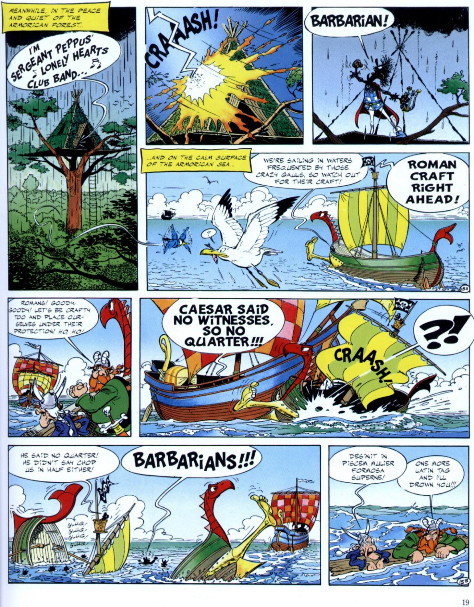 Read online Asterix comic -  Issue #29 - 17