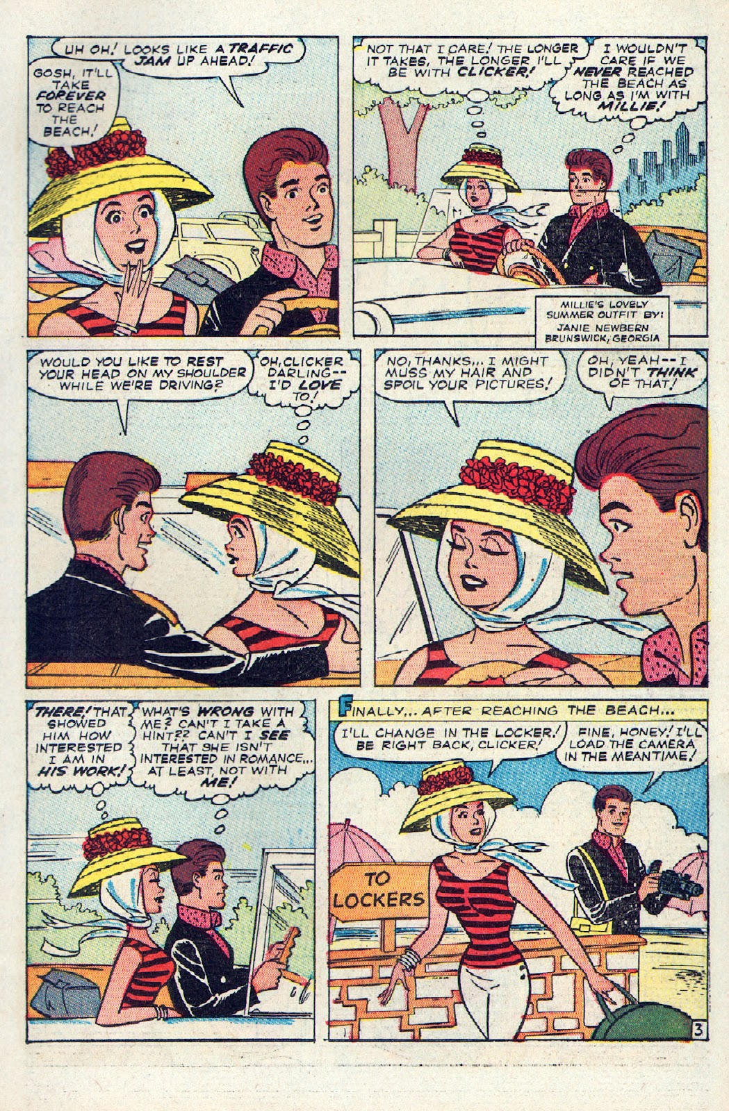 Read online Millie the Model comic -  Issue # Annual 2 - 5