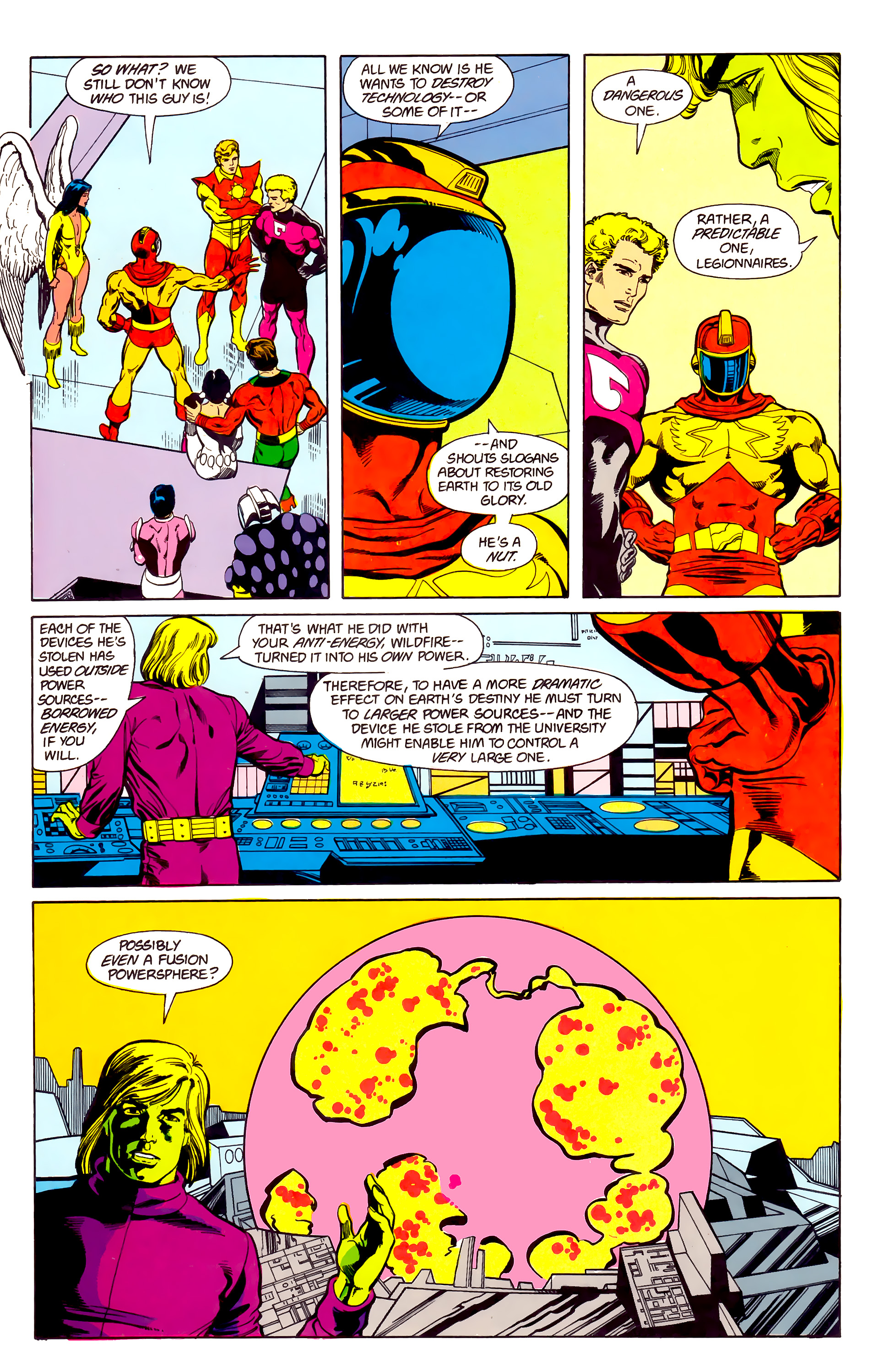 Legion of Super-Heroes (1984) 22 Page 15