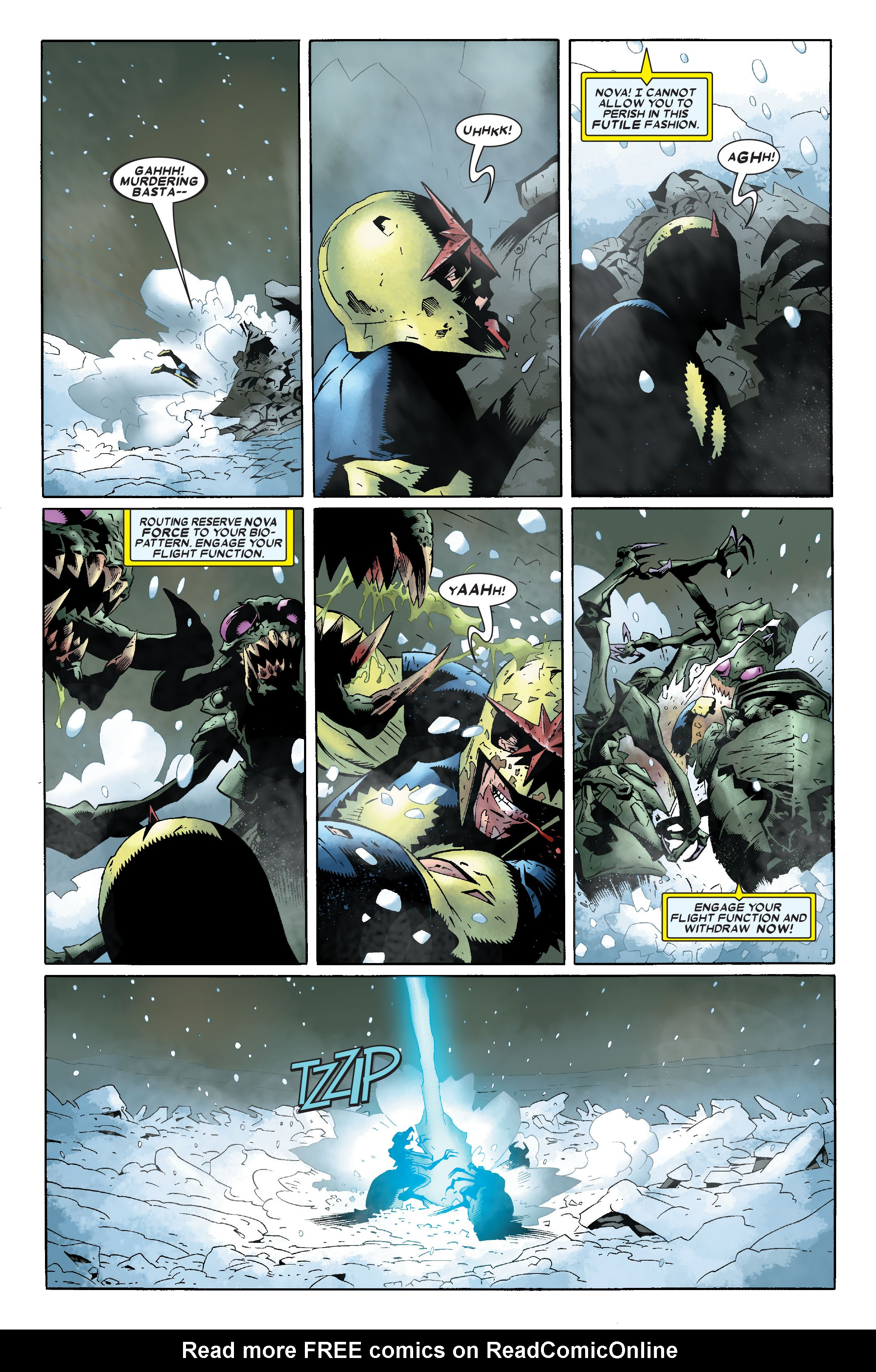 Read online Annihilation: Nova comic -  Issue #1 - 11