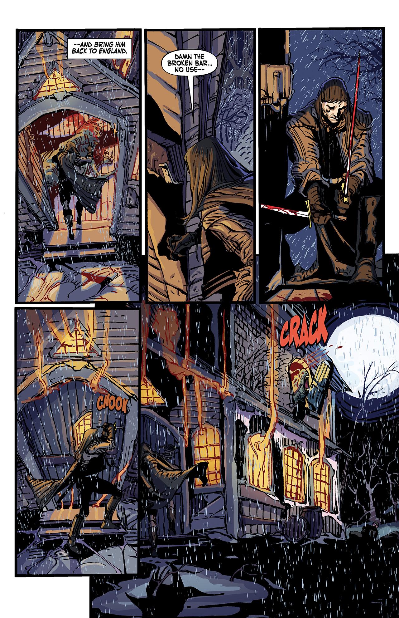 Read online Solomon Kane: Death's Black Riders comic -  Issue #4 - 20