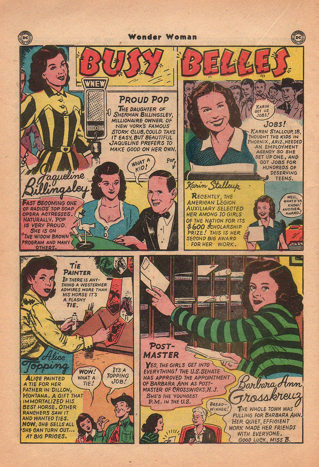 Read online Wonder Woman (1942) comic -  Issue #42 - 33