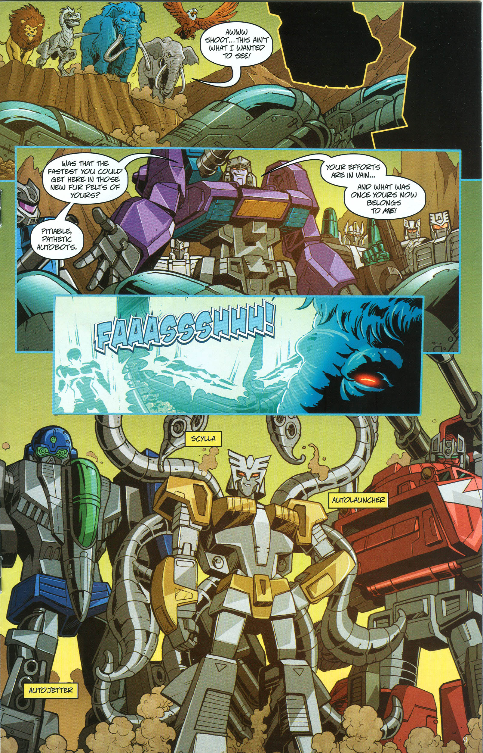 Read online Transformers: Collectors' Club comic -  Issue #50 - 9