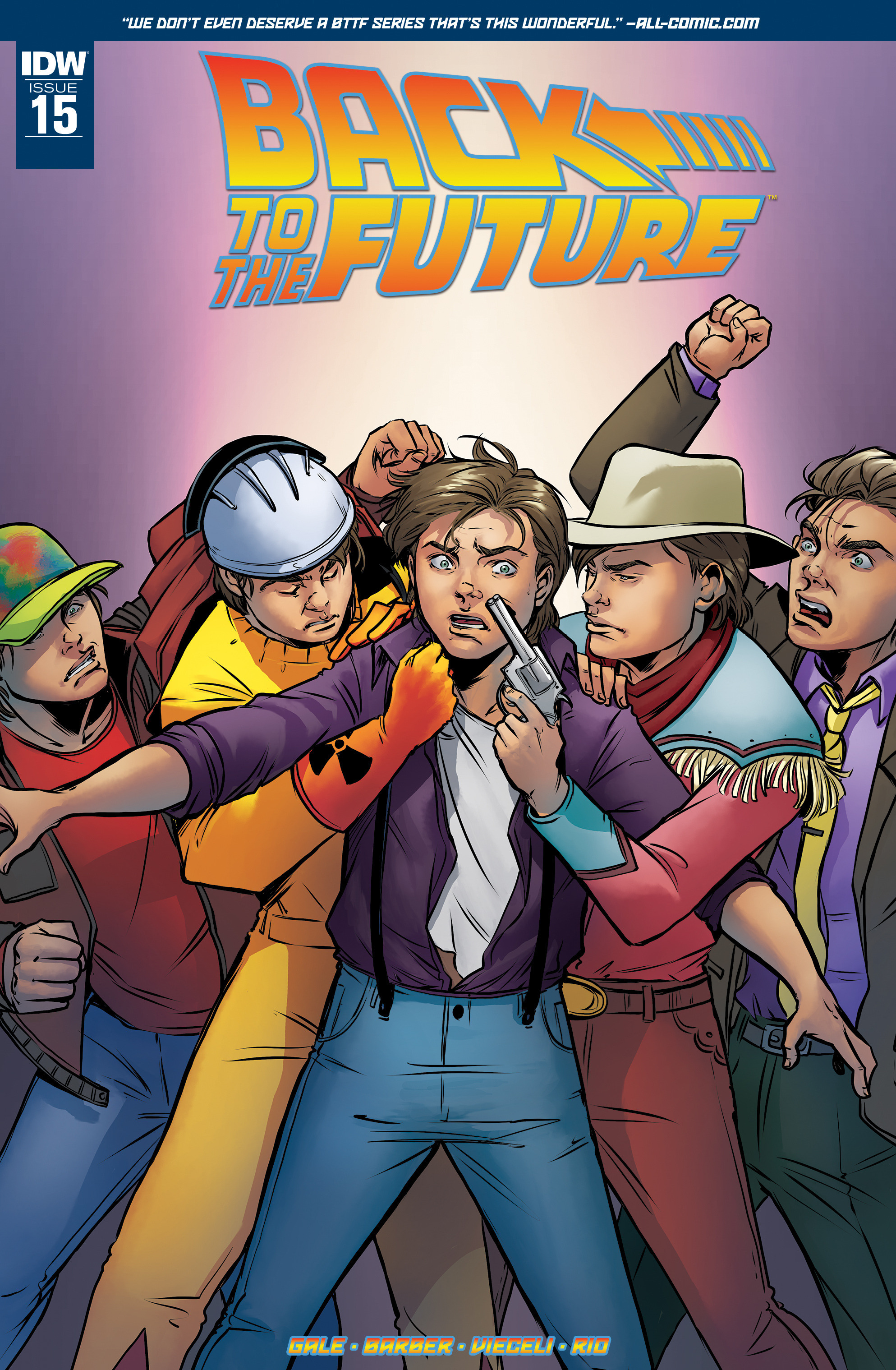 Back to the Future (2015) 15 Page 1