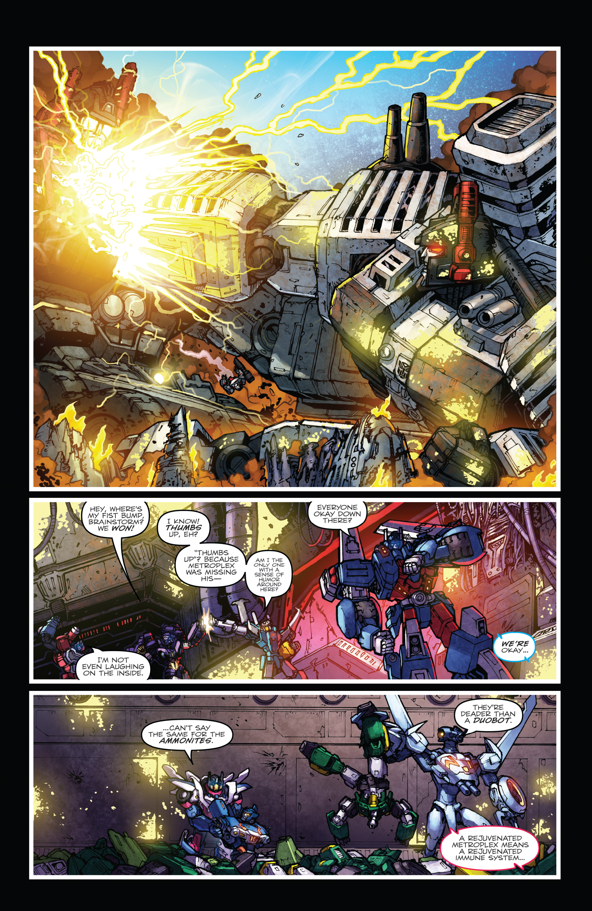 Read online The Transformers: Dark Cybertron Finale comic -  Issue # Full - 73