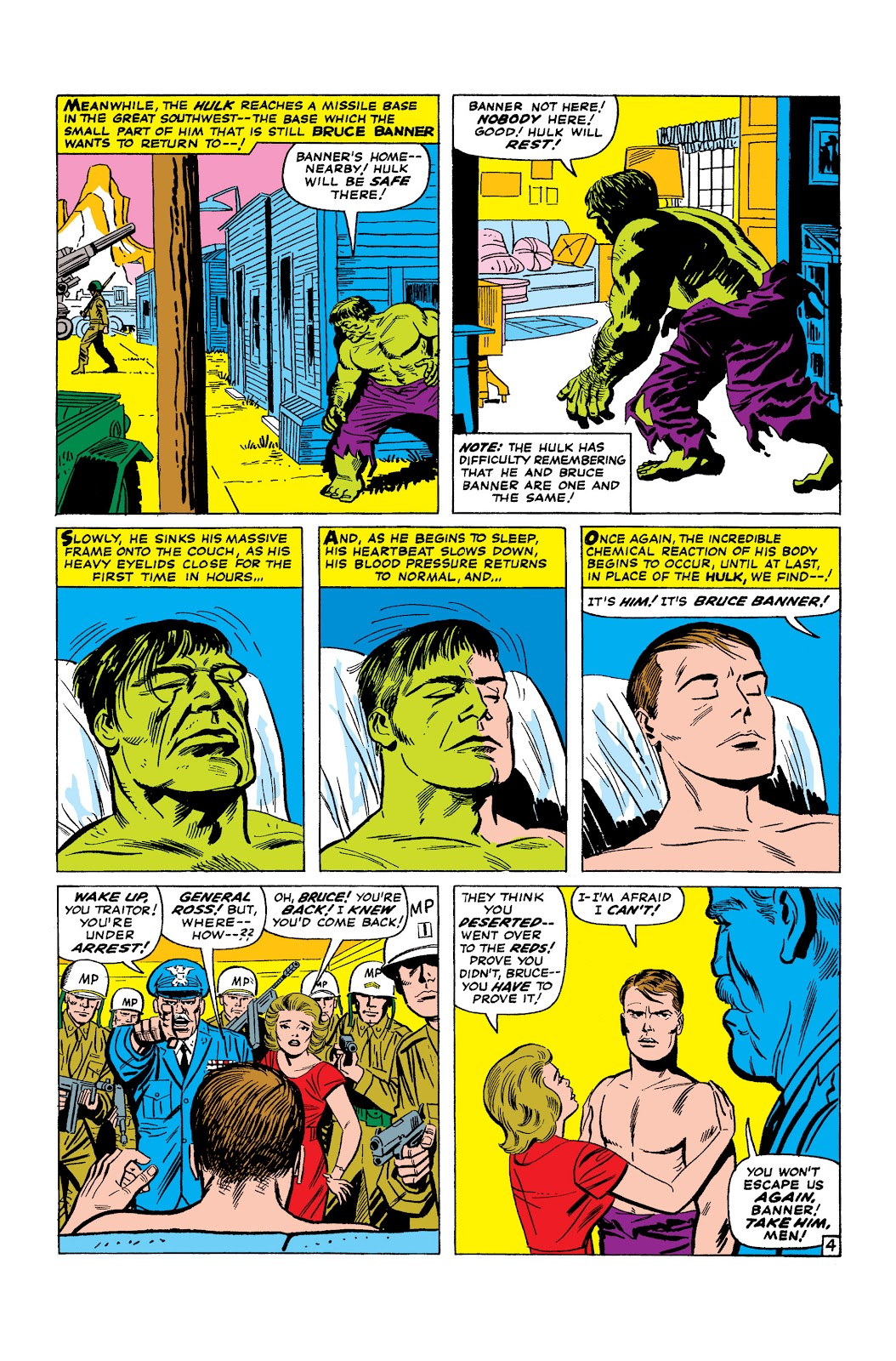 Read online Marvel Masterworks: The Incredible Hulk comic -  Issue # TPB 2 (Part 2) - 16