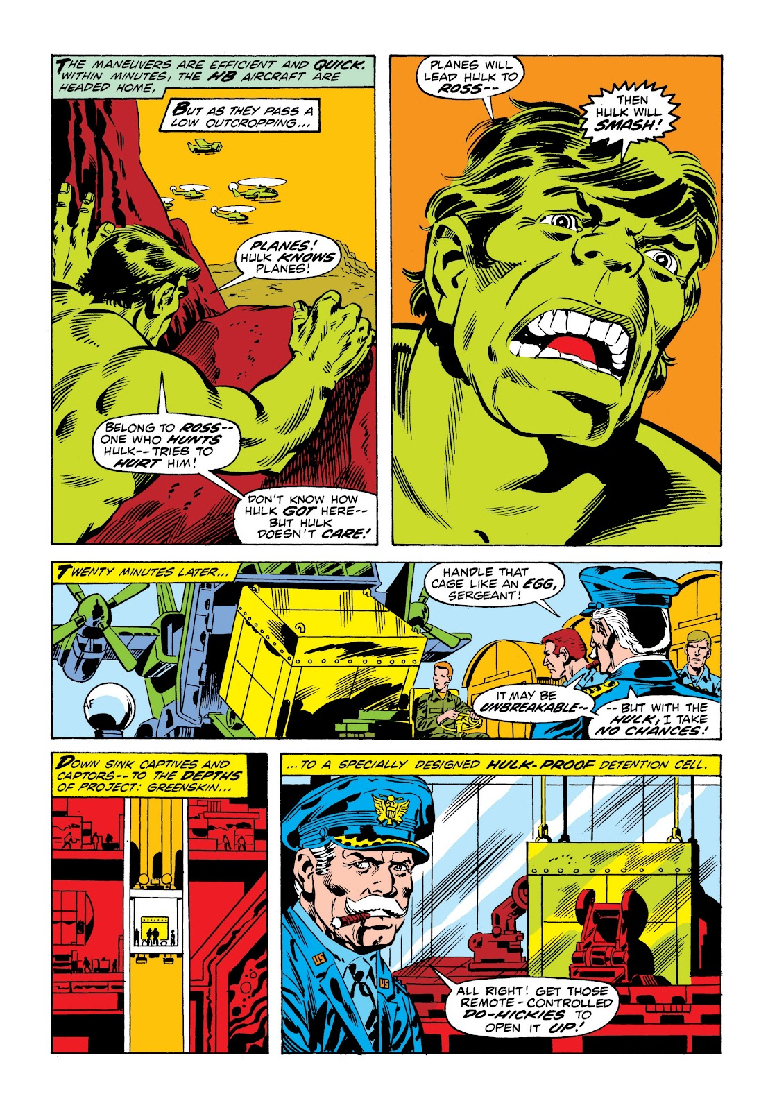 Read online Marvel Masterworks: The Incredible Hulk comic -  Issue # TPB 9 (Part 1) - 61