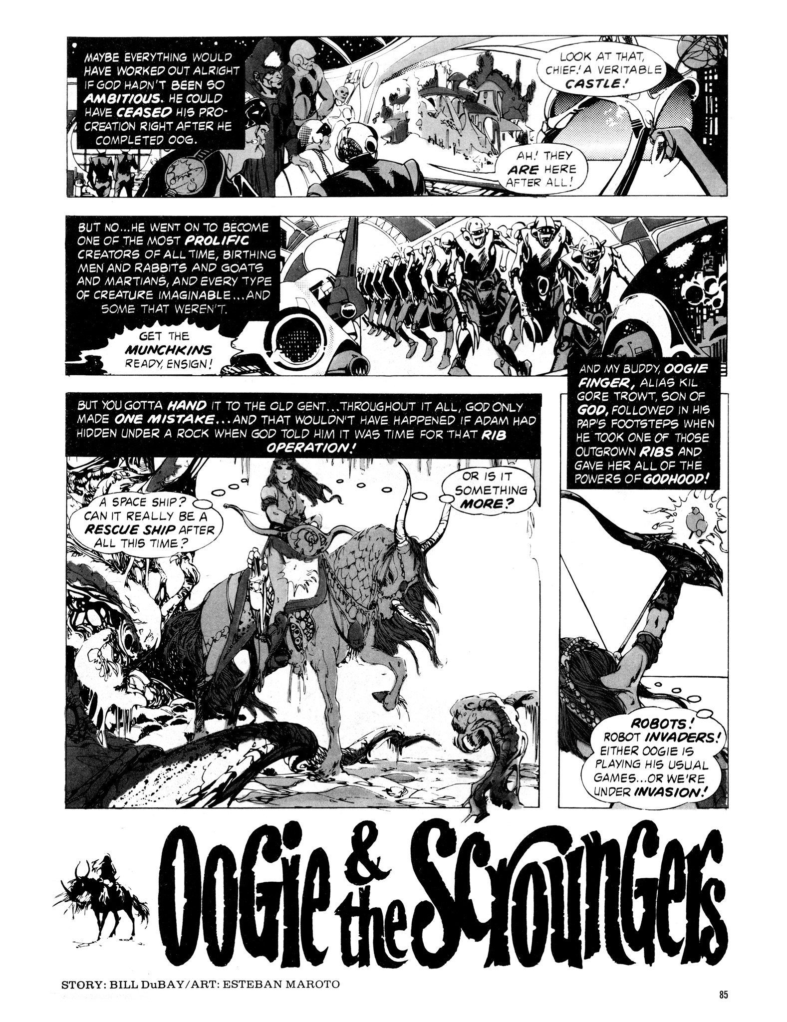 Read online Eerie Archives comic -  Issue # TPB 16 - 86