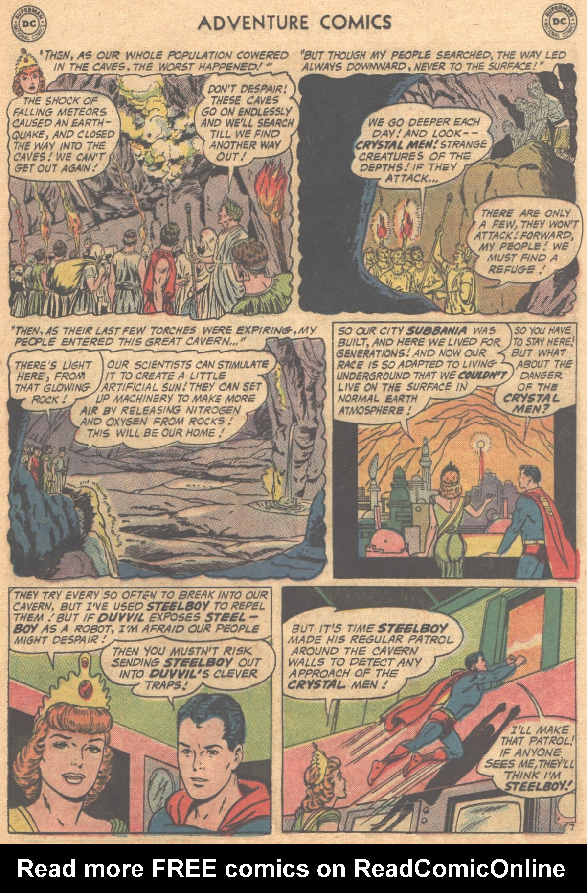 Read online Adventure Comics (1938) comic -  Issue #302 - 10