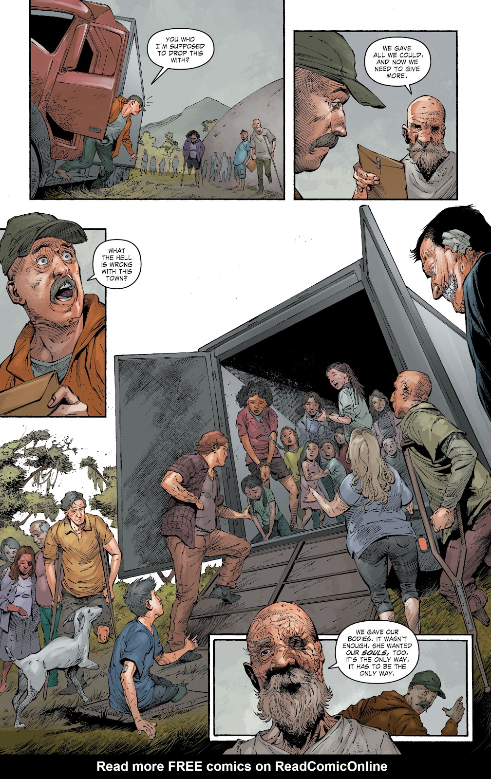 Read online The Curse of Brimstone: Ashes comic -  Issue # TPB (Part 1) - 41