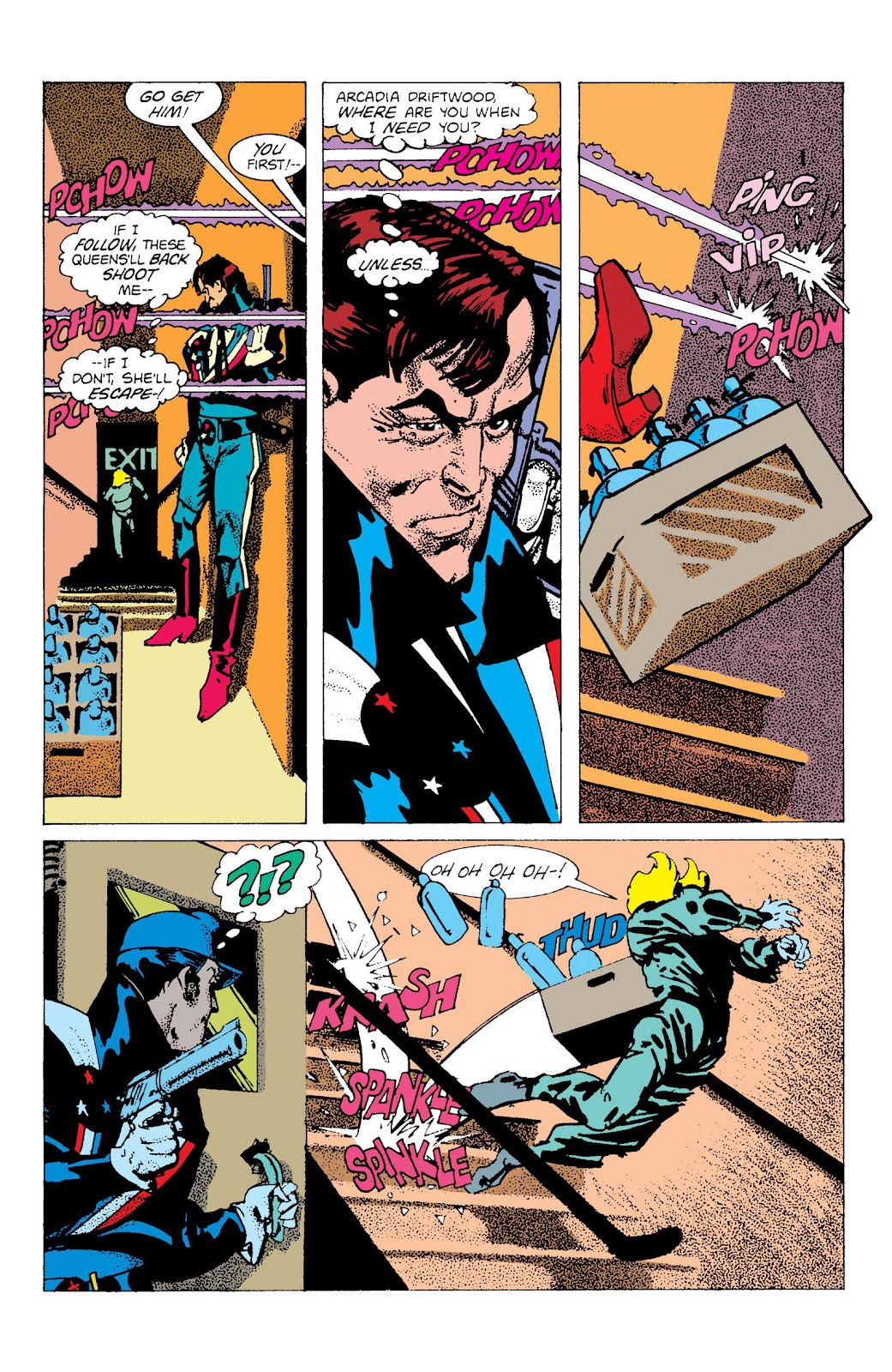 American Flagg! issue Definitive Collection (Part 2) - Page 97