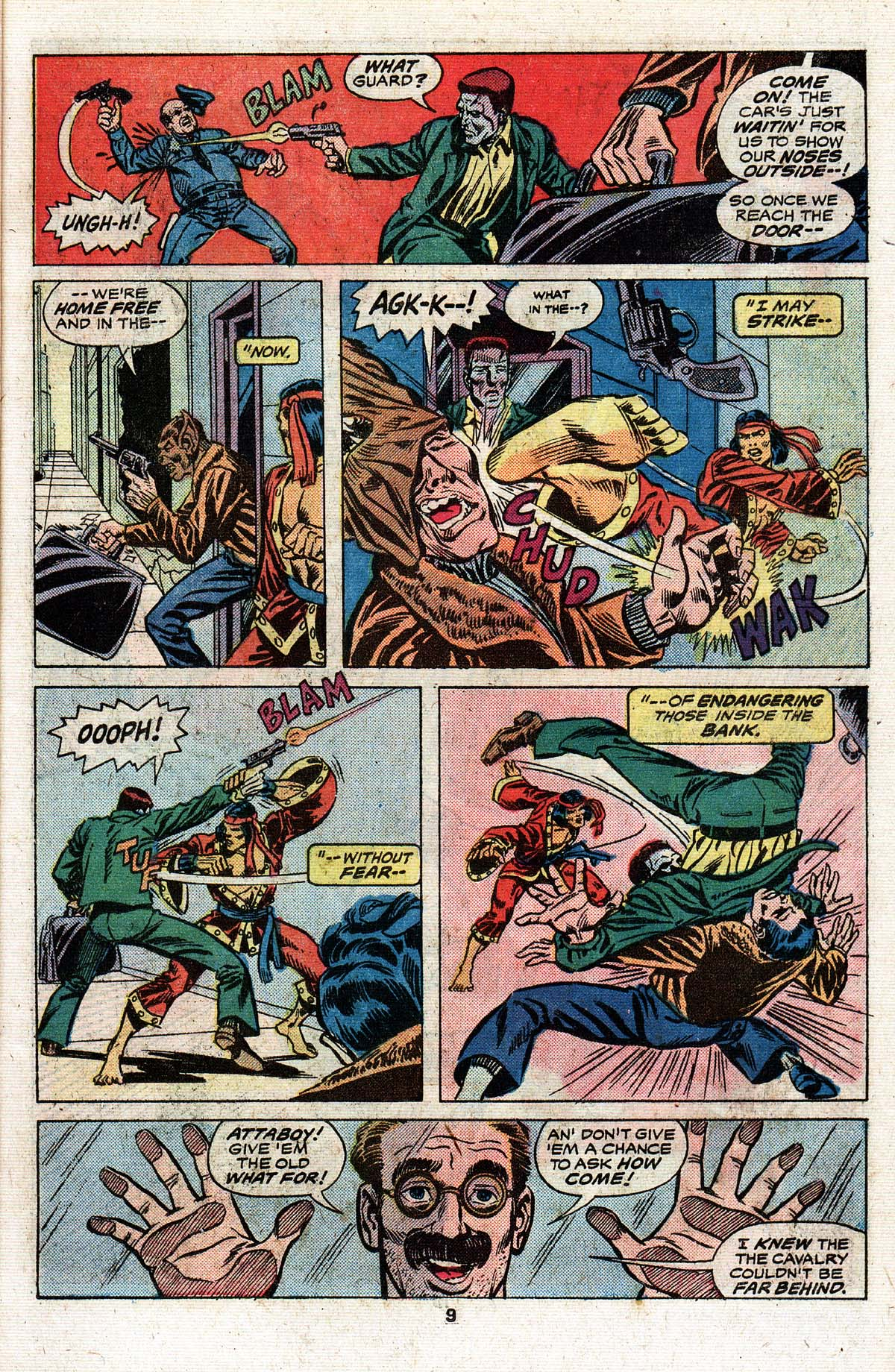 Read online Giant-Size Master of Kung Fu comic -  Issue #4 - 8