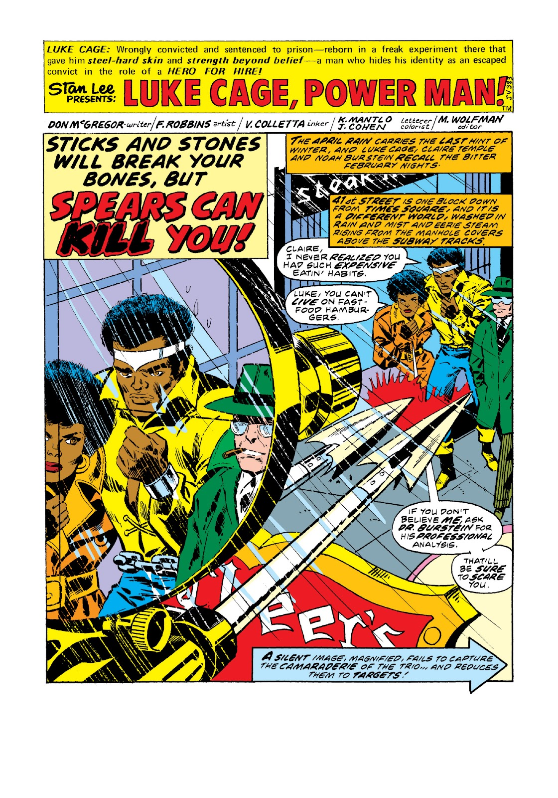 Read online Marvel Masterworks: Luke Cage, Power Man comic -  Issue # TPB 3 (Part 1) - 28