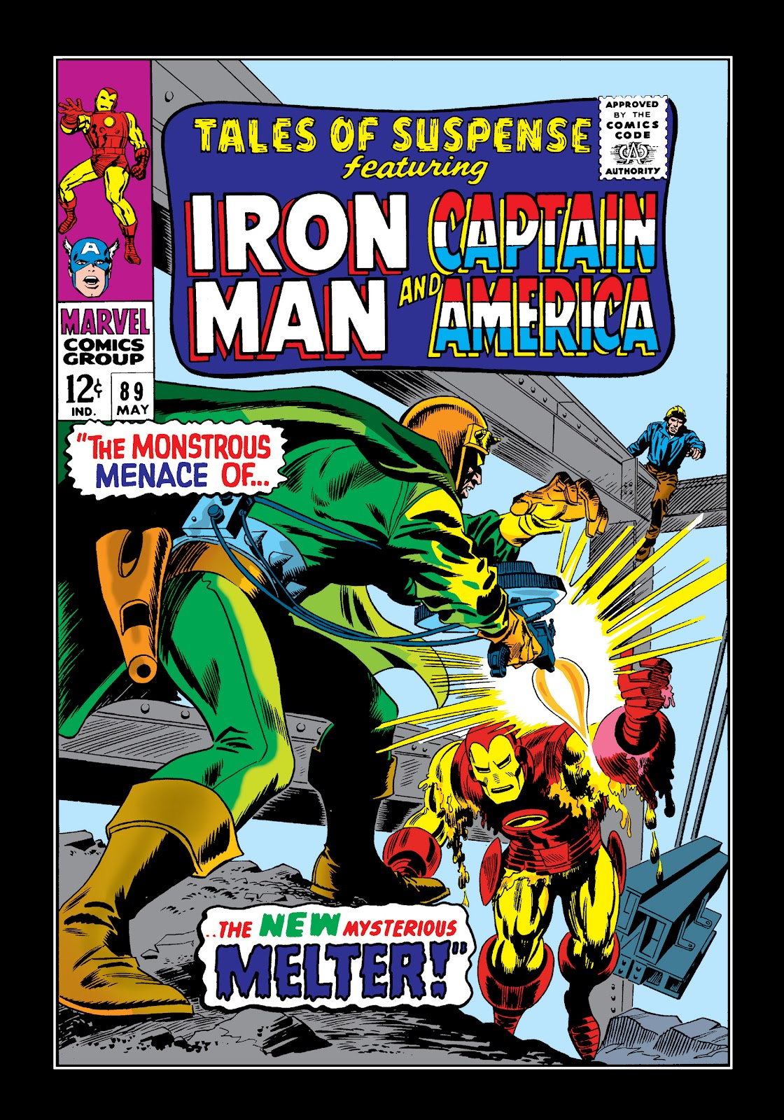 Read online Marvel Masterworks: The Invincible Iron Man comic -  Issue # TPB 4 (Part 1) - 71