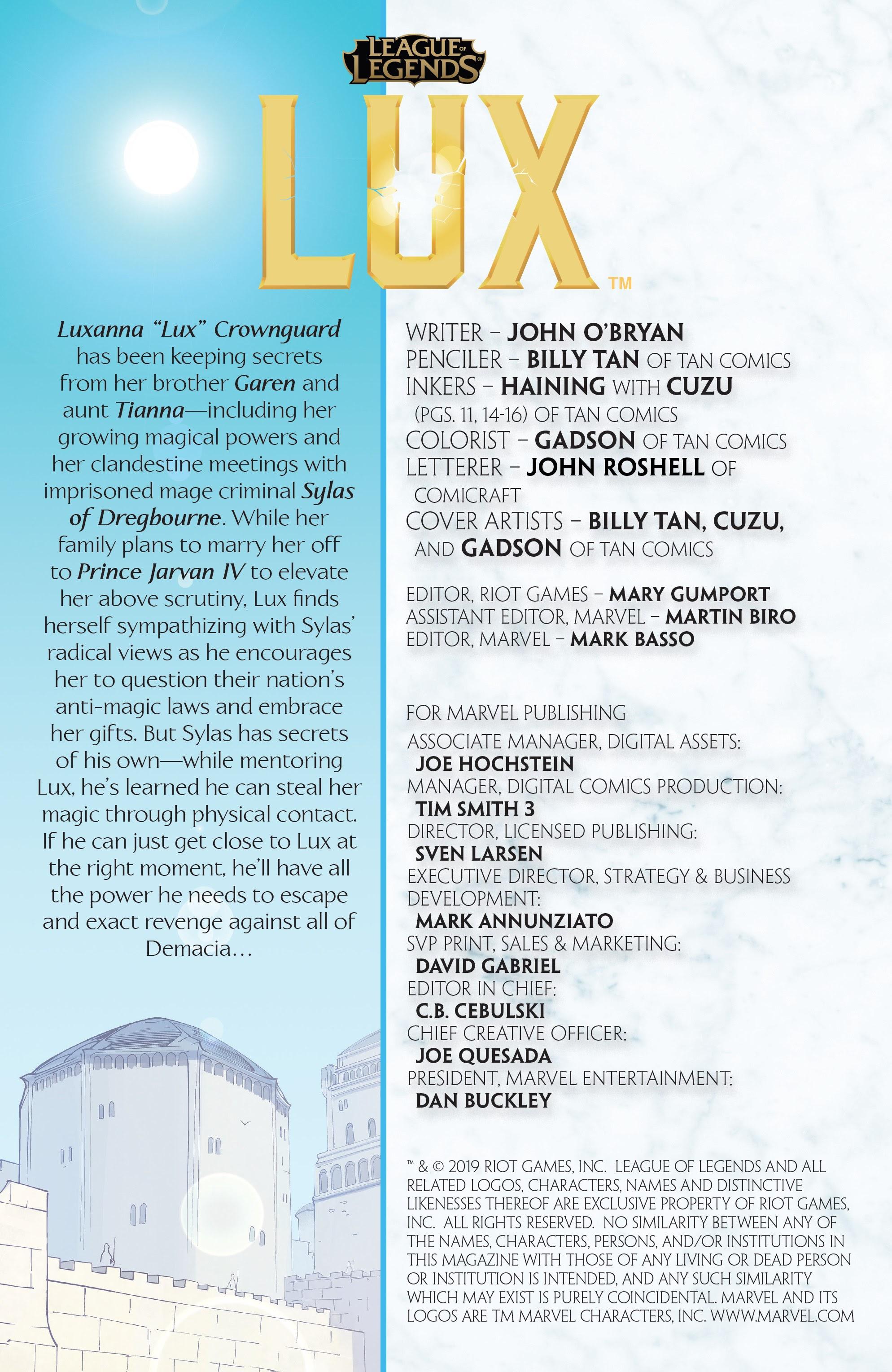 League of Legends: Lux 3 Page 2