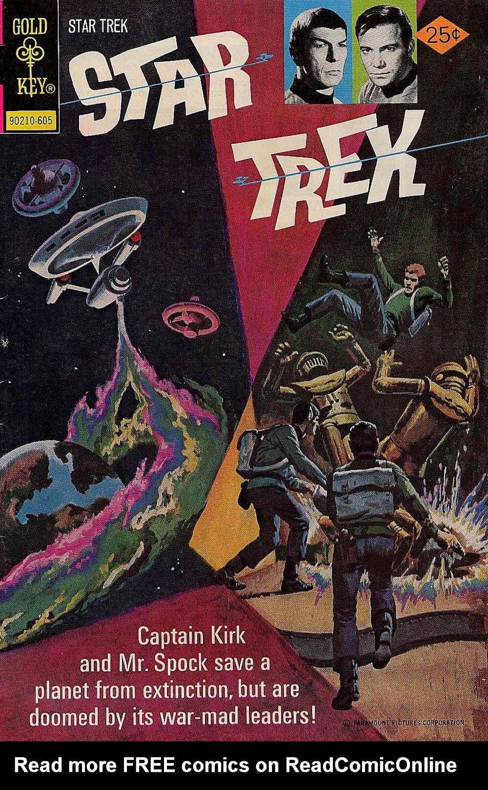 Star Trek (1967) issue 37 - Page 1