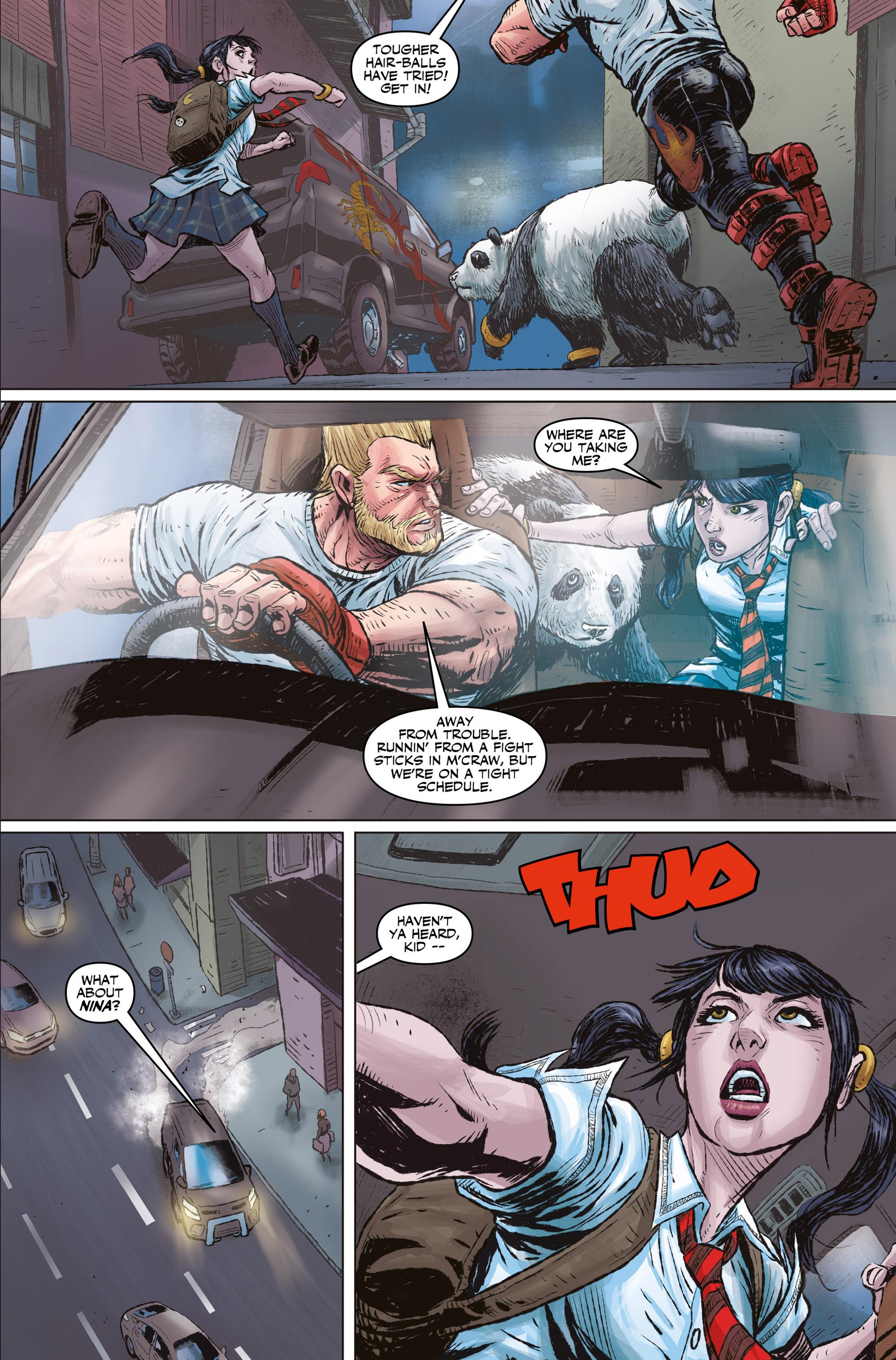 Read online Tekken comic -  Issue #1 - 18