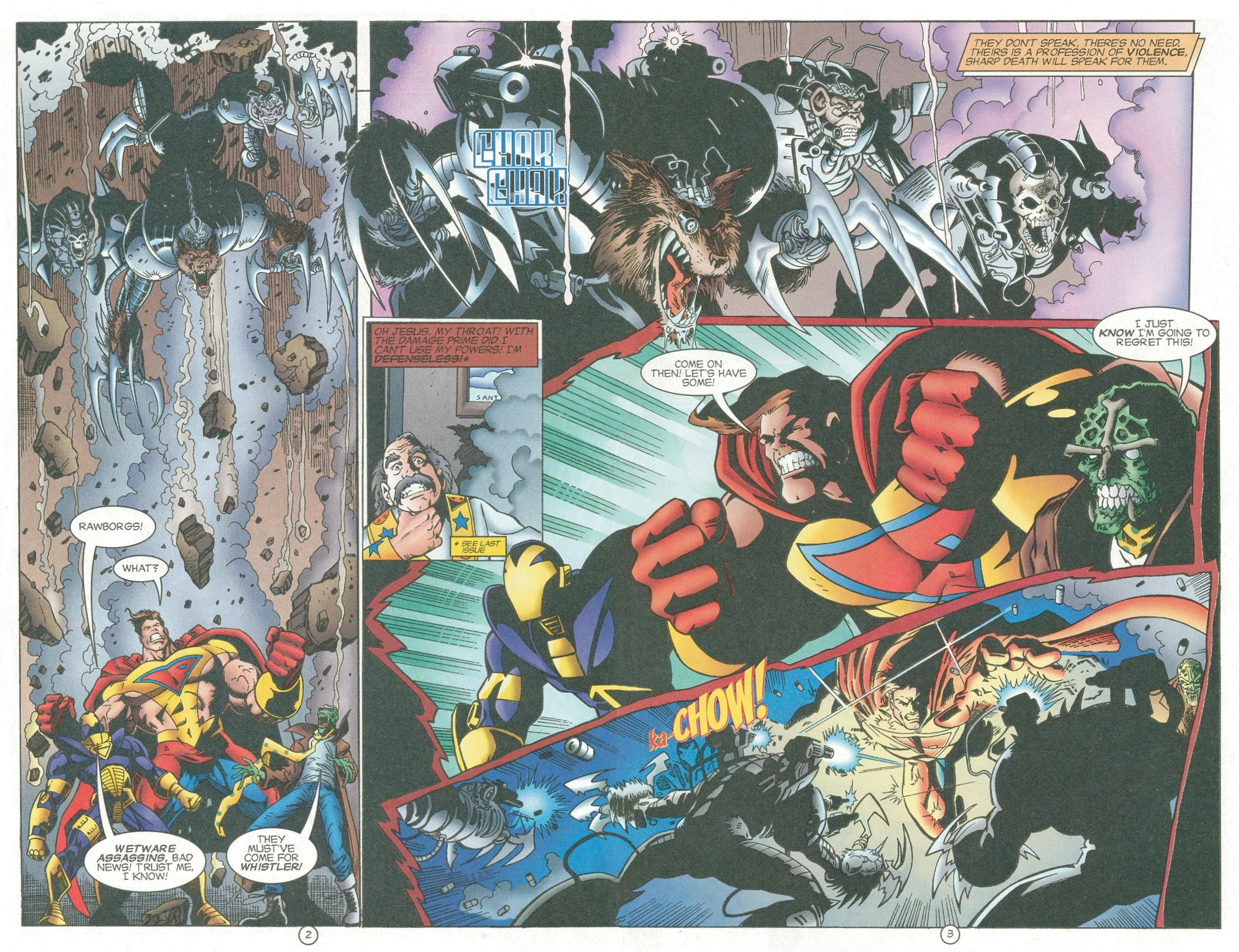 Read online UltraForce (1995) comic -  Issue #6 - 4
