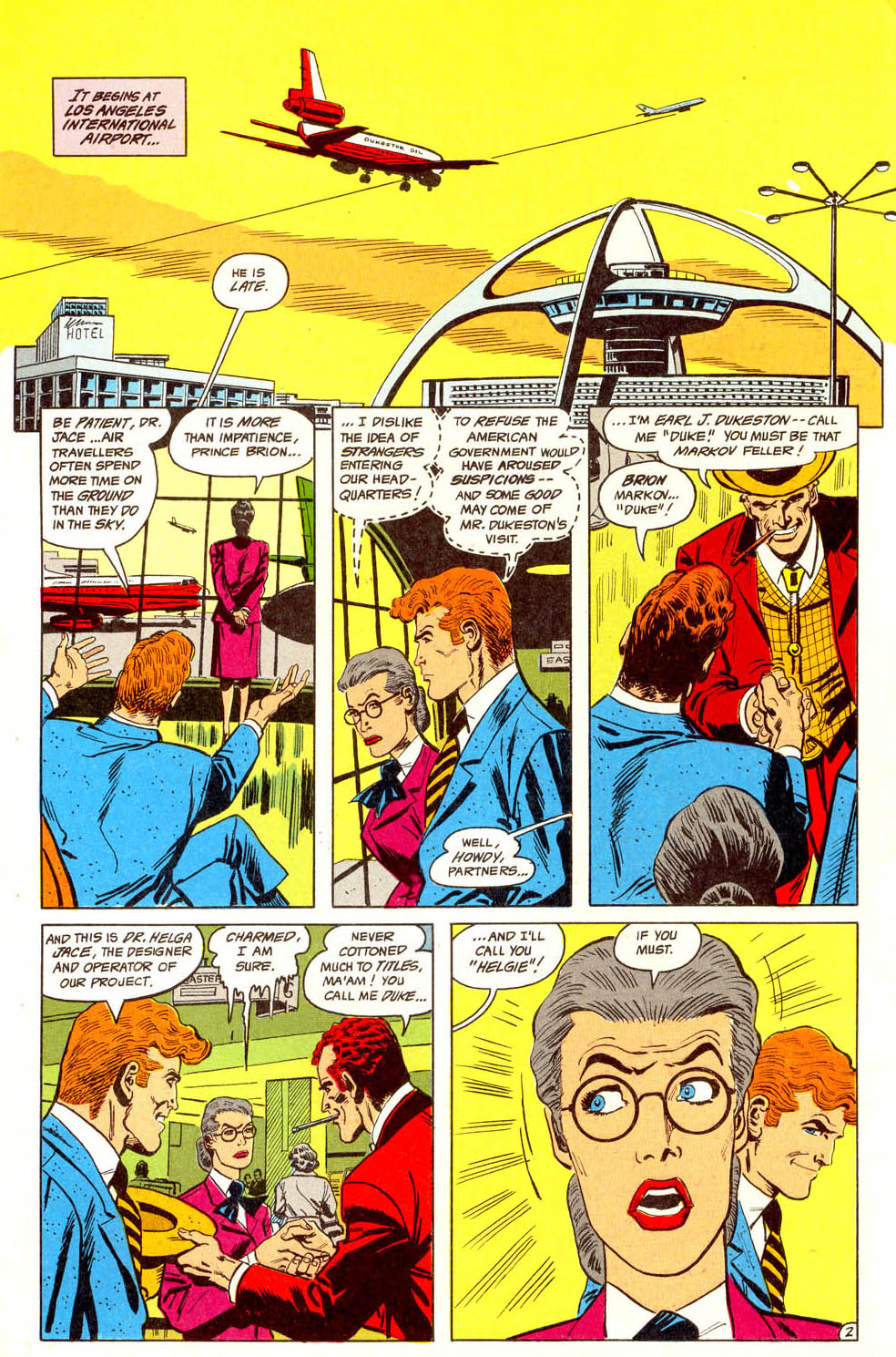 Read online Adventures of the Outsiders comic -  Issue #44 - 3