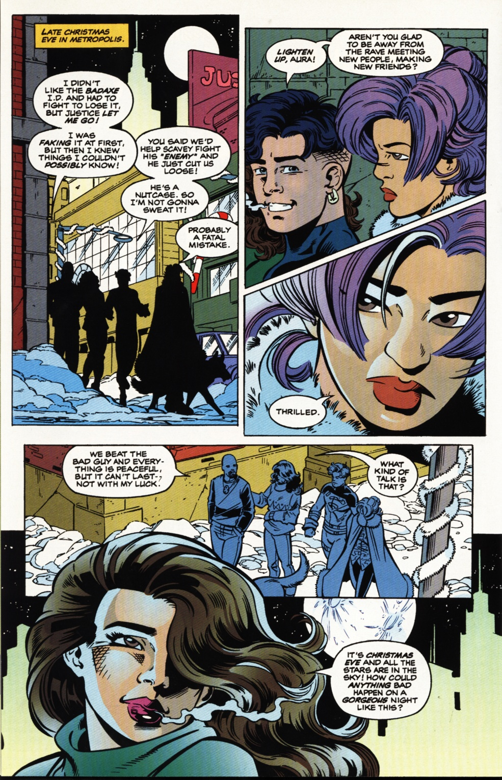 Read online Superboy & The Ravers comic -  Issue #5 - 21