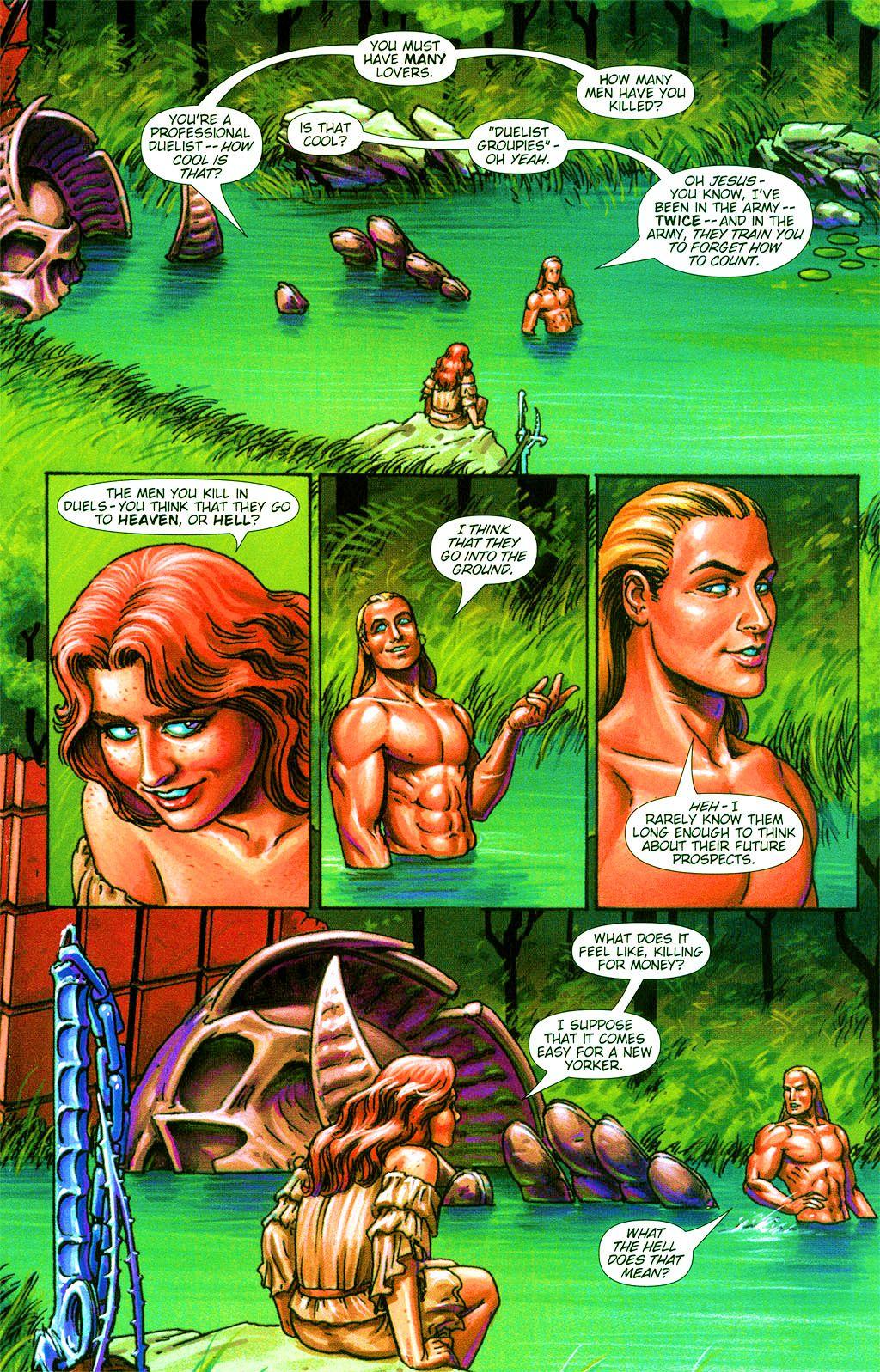 Read online Dawn: Three Tiers comic -  Issue #2 - 13