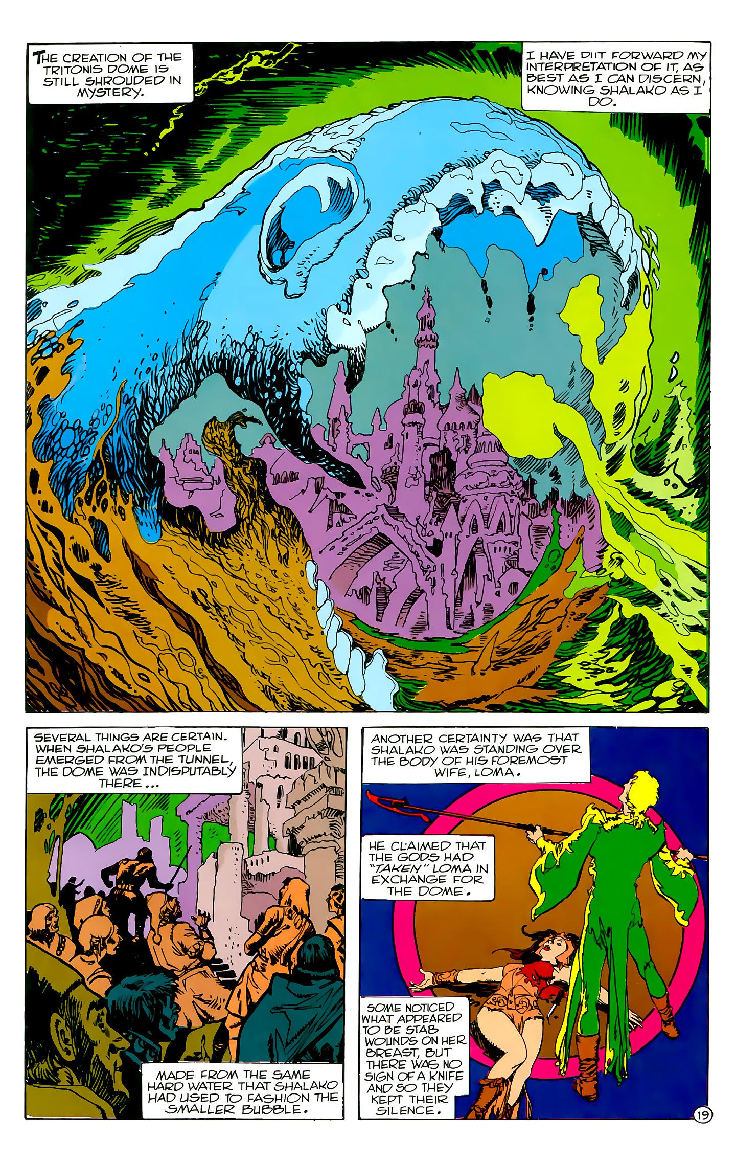 Read online Atlantis Chronicles comic -  Issue #2 - 19