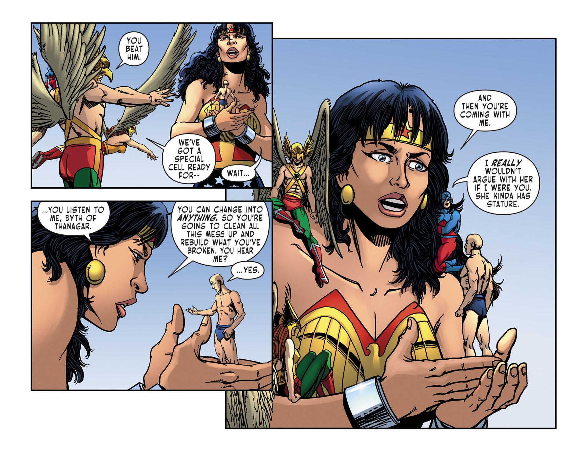 Read online Sensation Comics Featuring Wonder Woman comic -  Issue #10 - 20