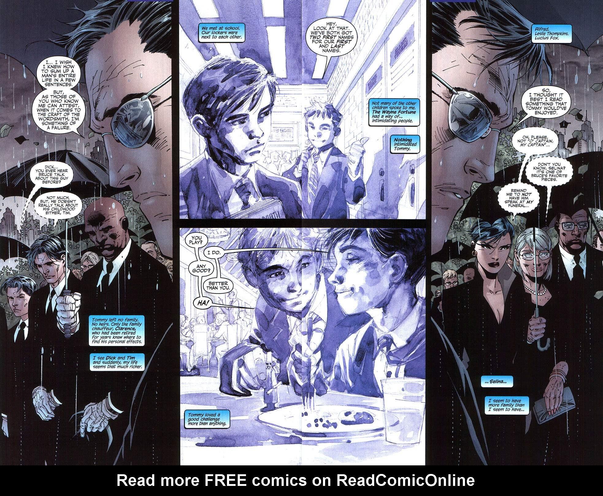 Read online Batman: Hush comic -  Issue #8 - 3