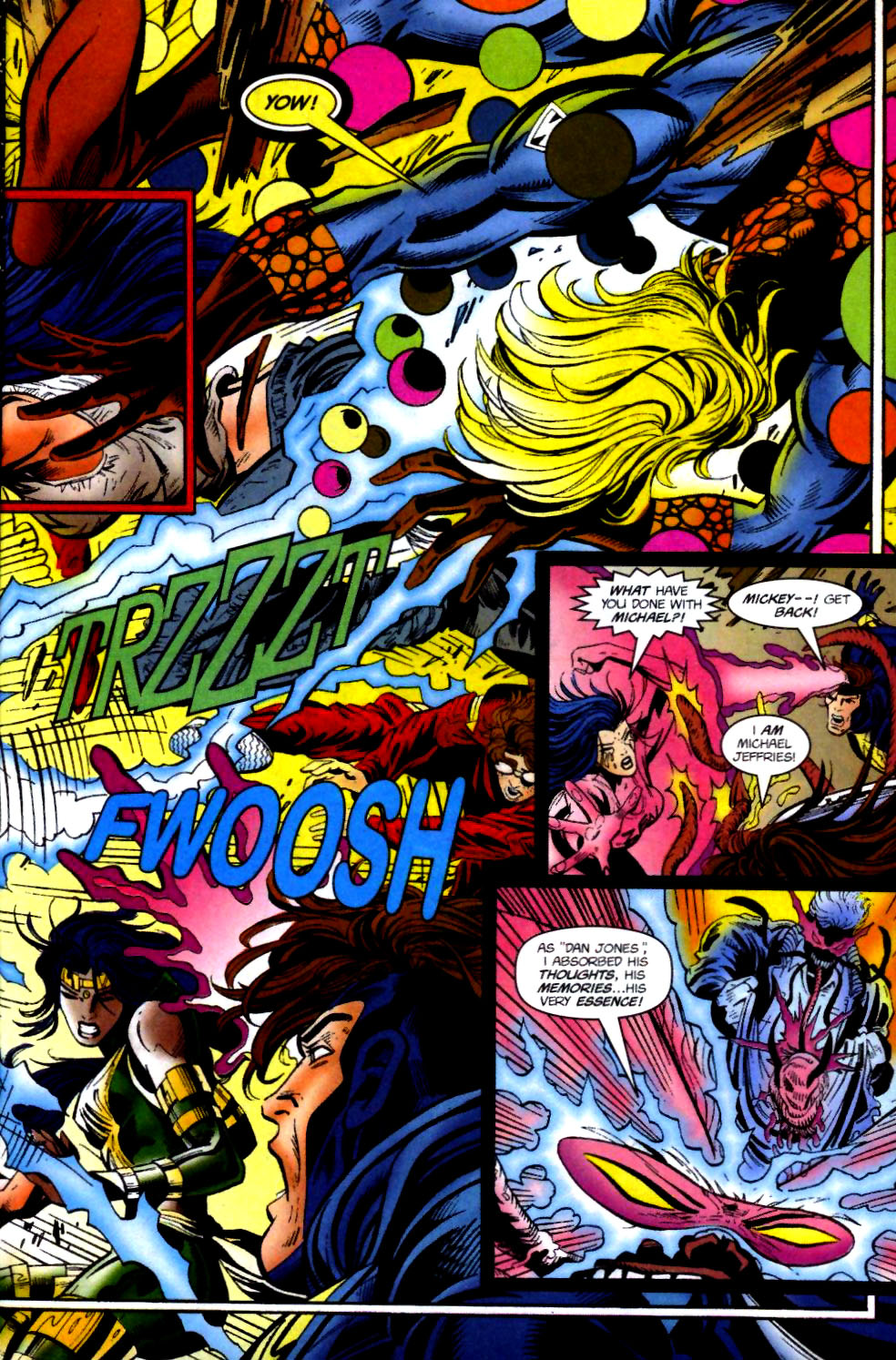 The New Warriors Issue #74 #78 - English 4