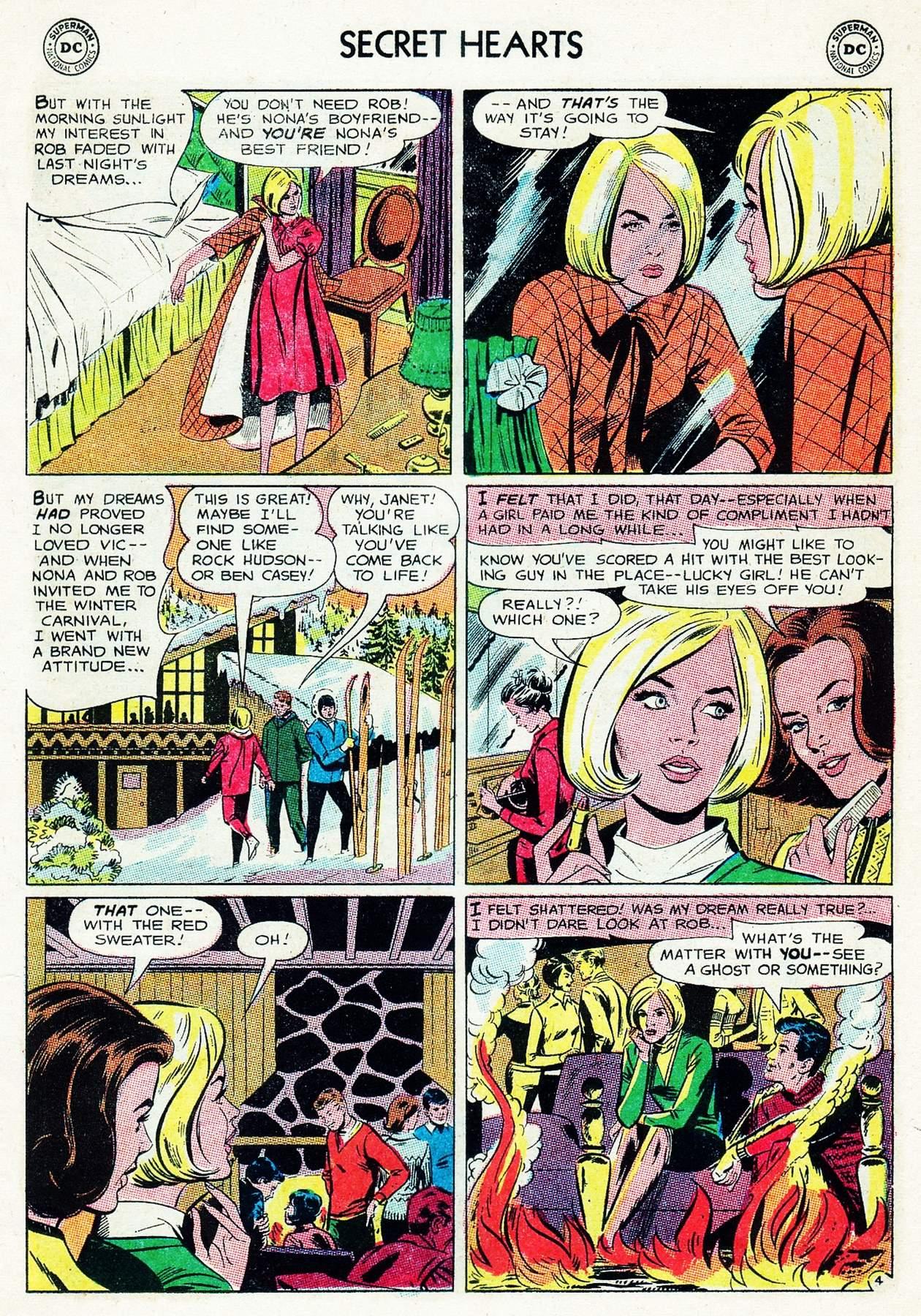 Read online Secret Hearts comic -  Issue #105 - 15