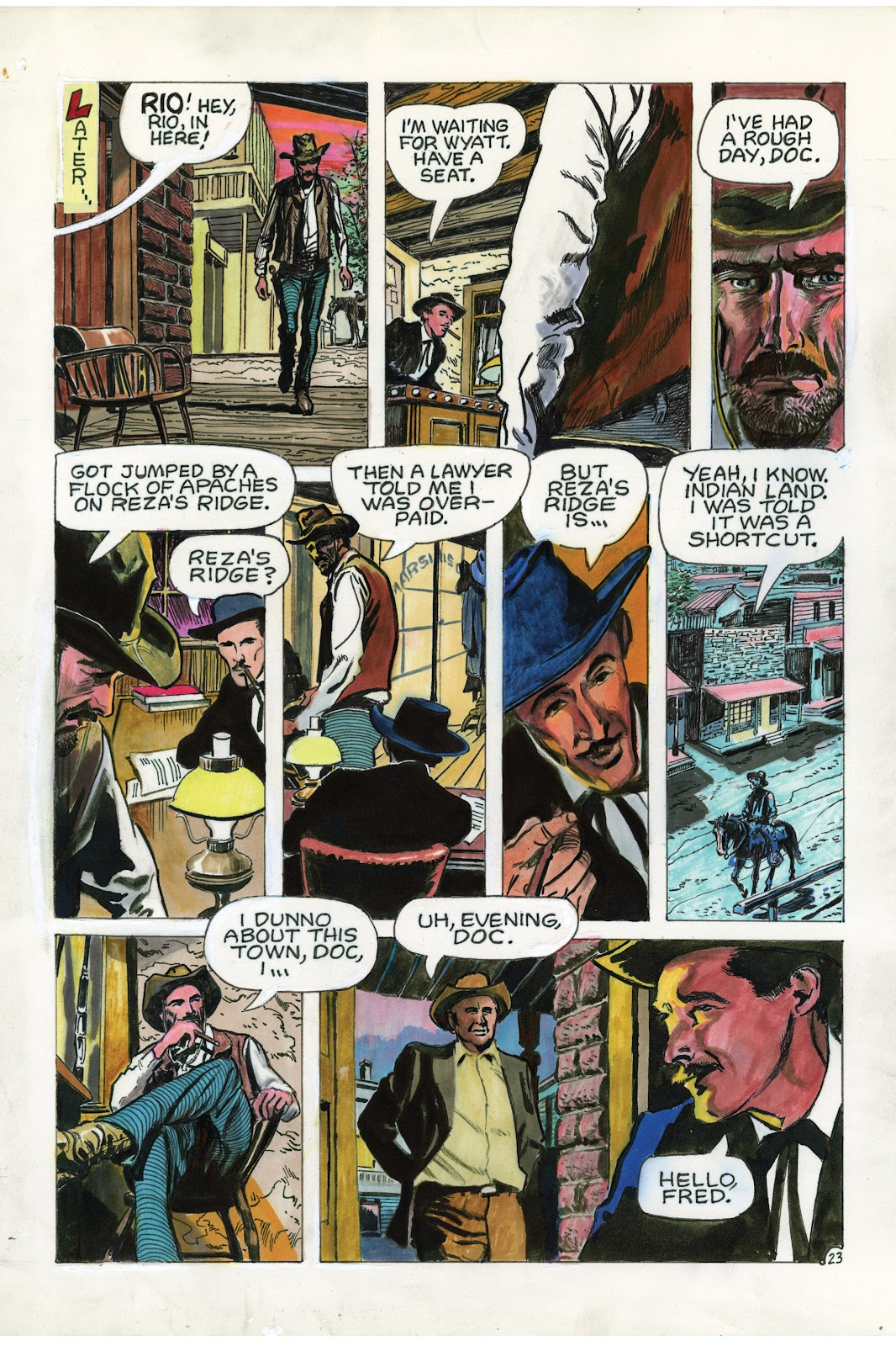 Read online Doug Wildey's Rio: The Complete Saga comic -  Issue # TPB (Part 3) - 11