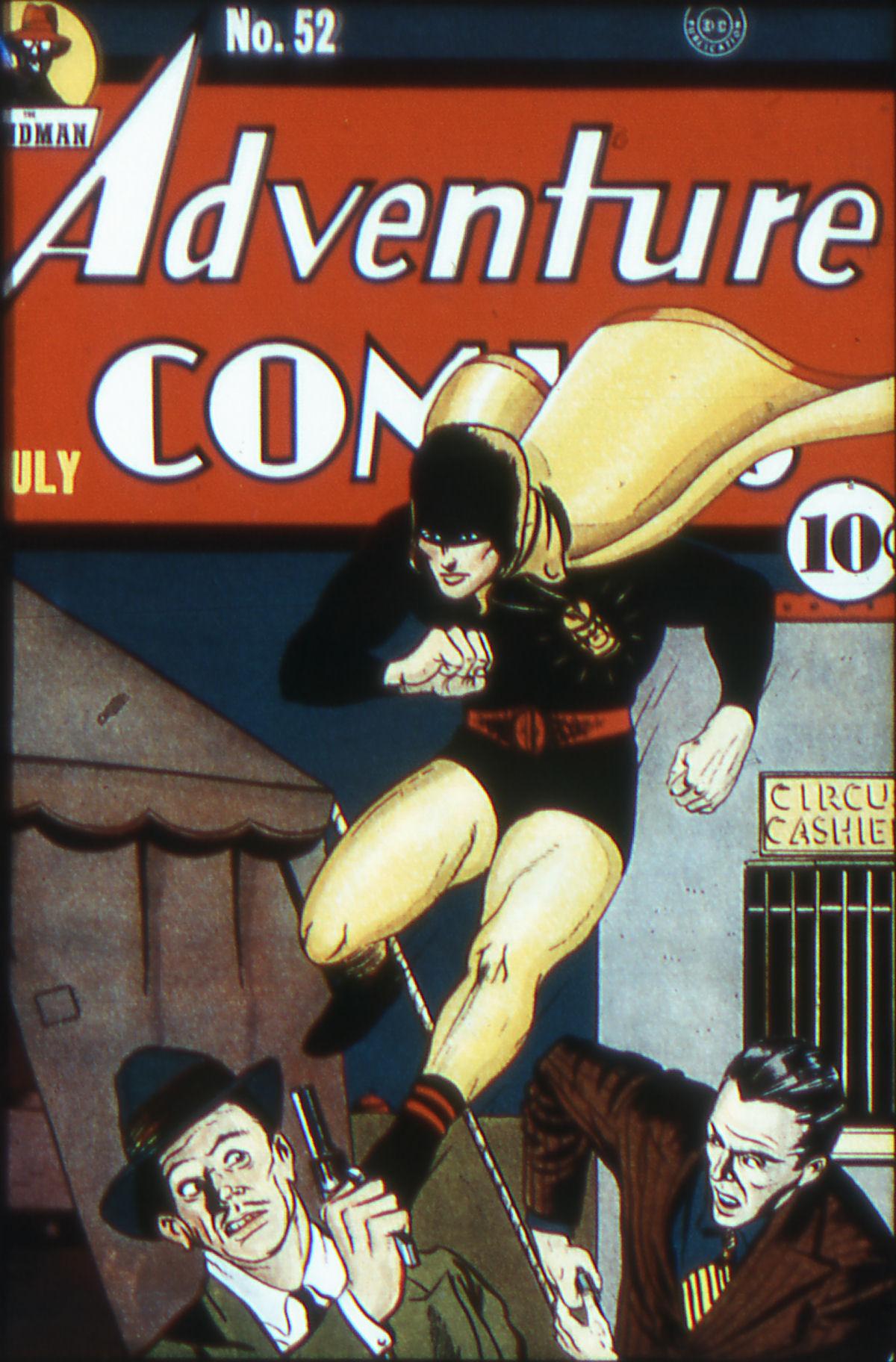 Read online Adventure Comics (1938) comic -  Issue #52 - 1