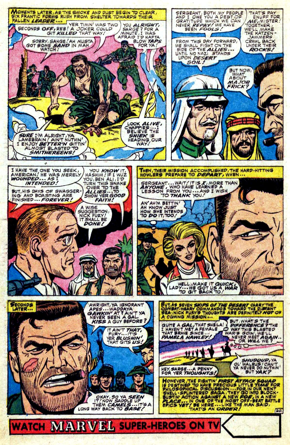 Read online Sgt. Fury comic -  Issue #37 - 28
