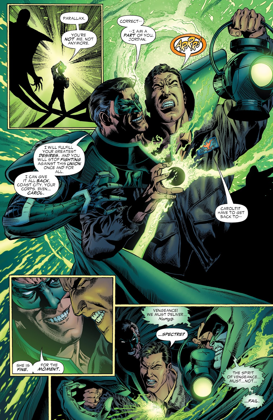 Read online Green Lantern by Geoff Johns comic -  Issue # TPB 1 (Part 1) - 77