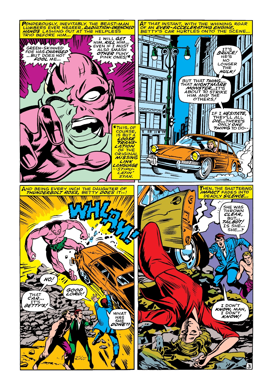 Read online Marvel Masterworks: The Incredible Hulk comic -  Issue # TPB 4 (Part 1) - 73