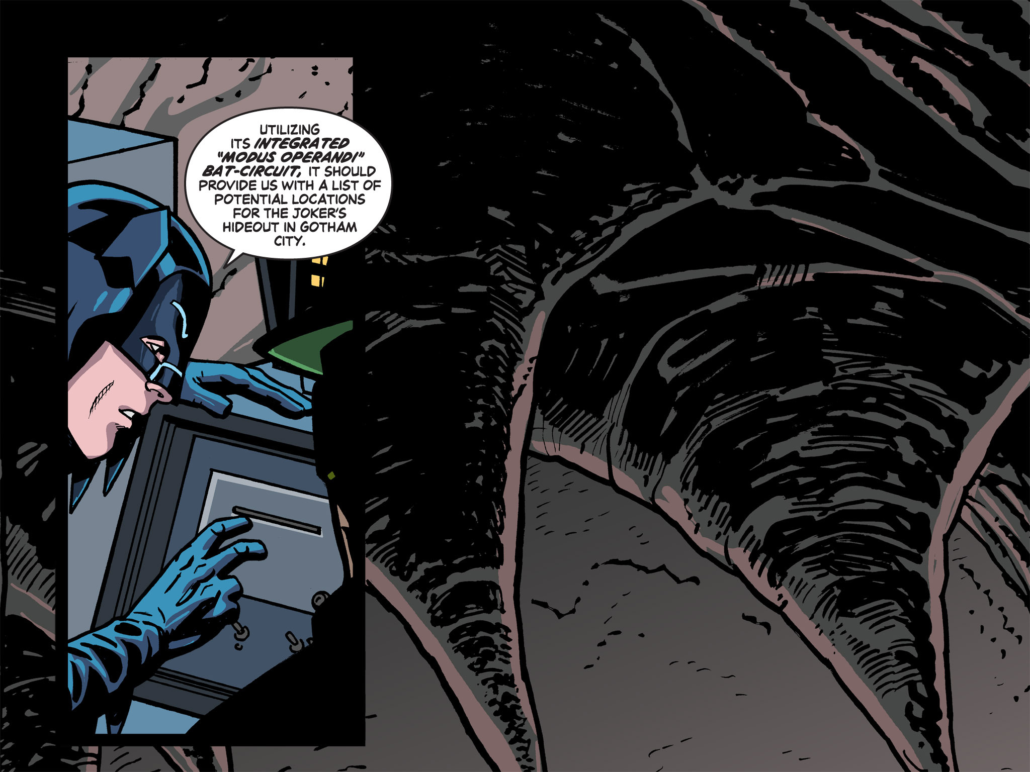 Read online Batman '66 Meets the Green Hornet [II] comic -  Issue #5 - 57