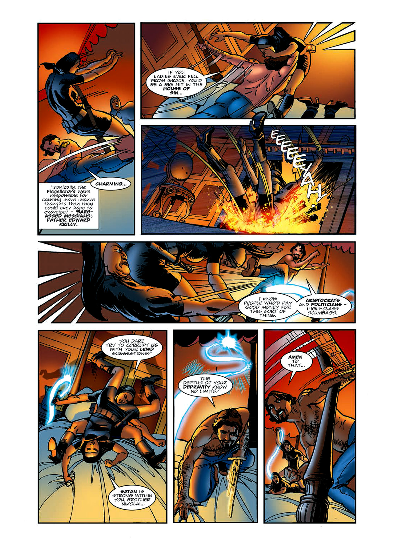 Read online Nikolai Dante comic -  Issue # TPB 6 - 26