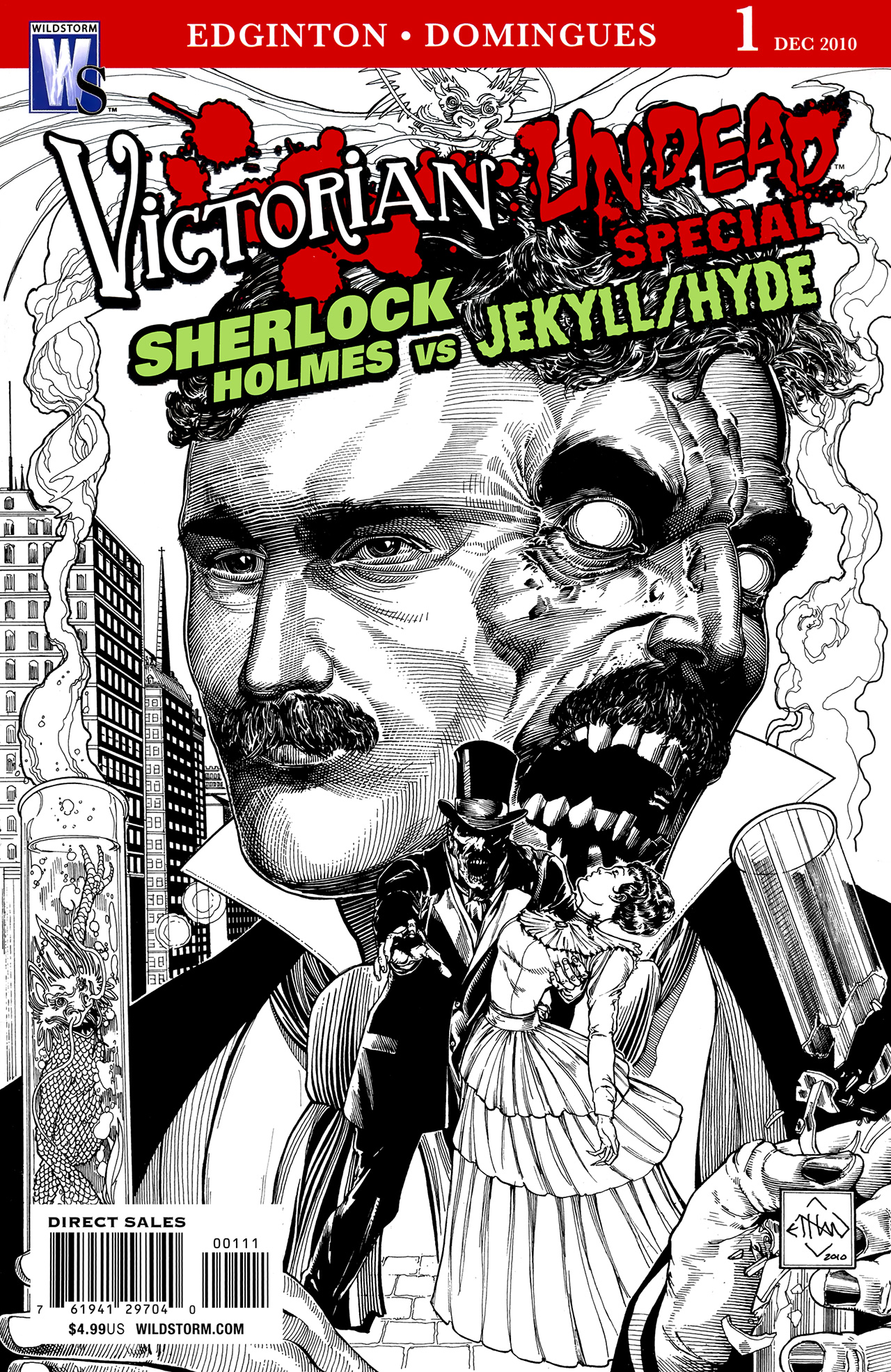 Victorian Undead: Sherlock Holmes vs. Jekyll and Hyde issue Full - Page 1