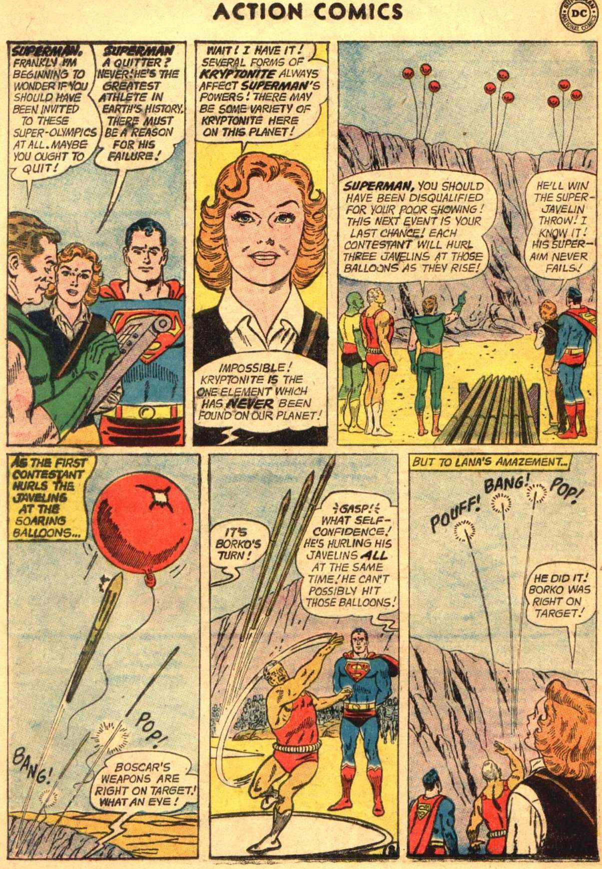 Read online Action Comics (1938) comic -  Issue #304 - 10