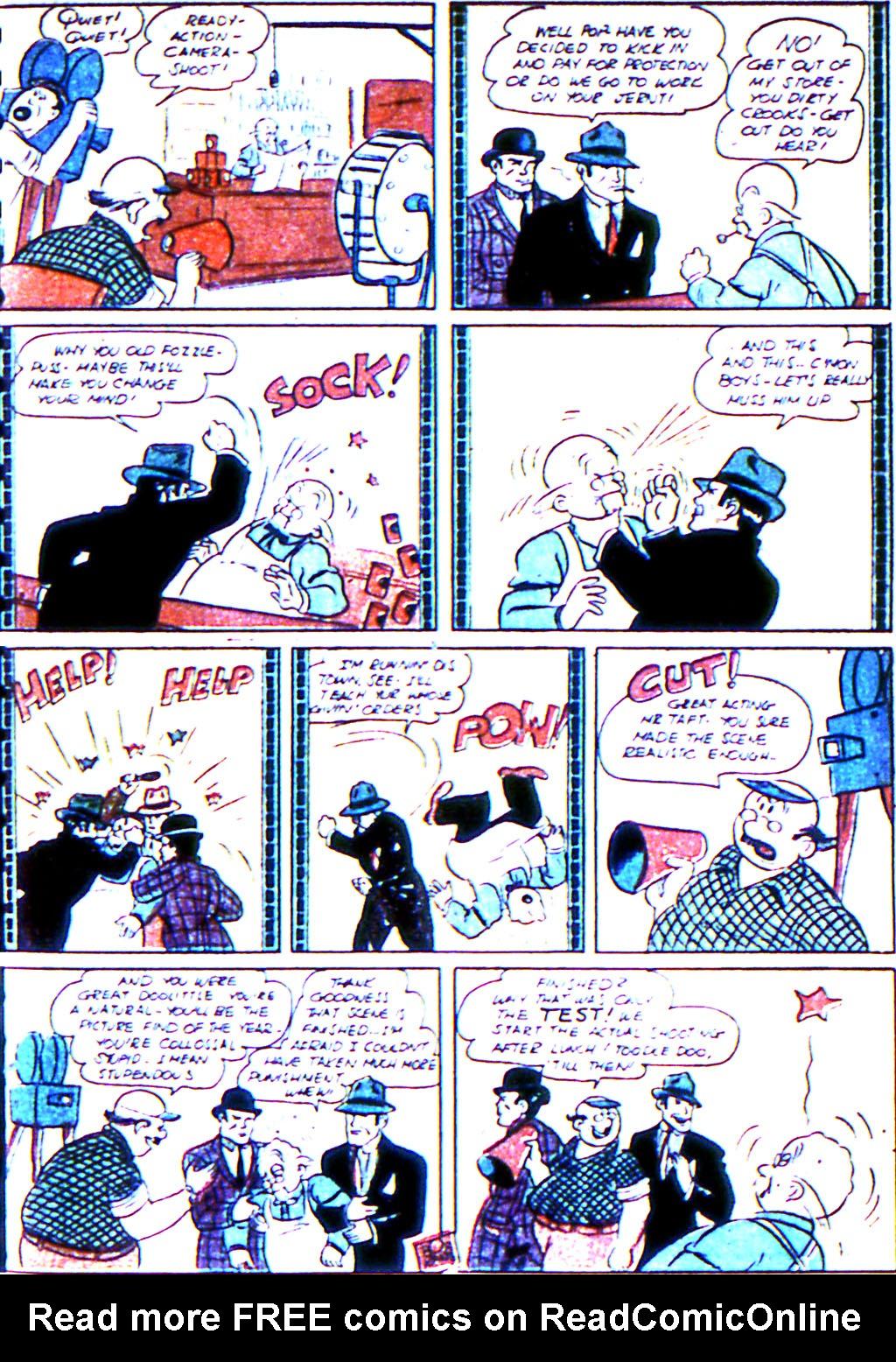 Read online Adventure Comics (1938) comic -  Issue #45 - 21