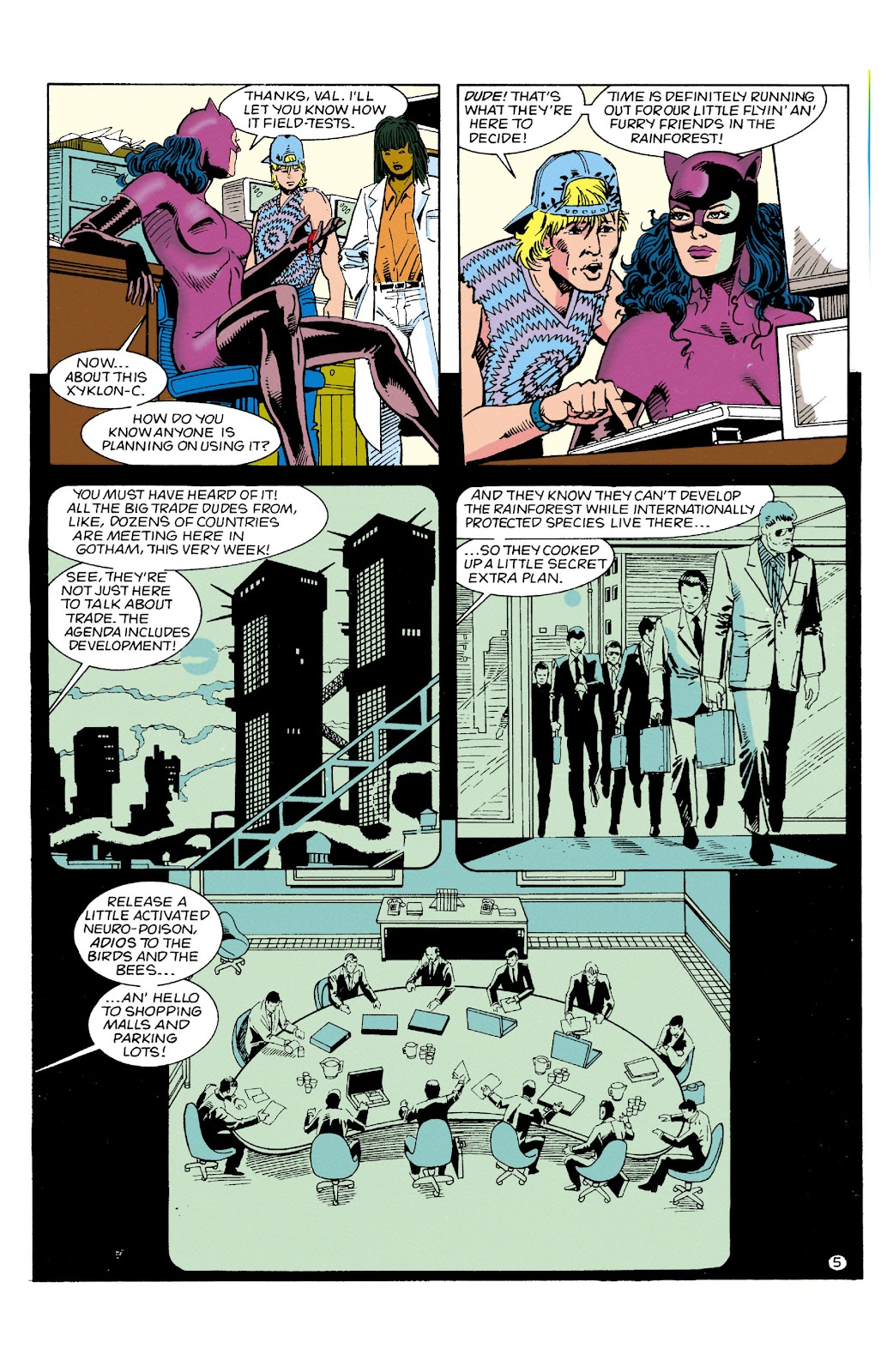 Catwoman (1993) Issue #6 #11 - English 6